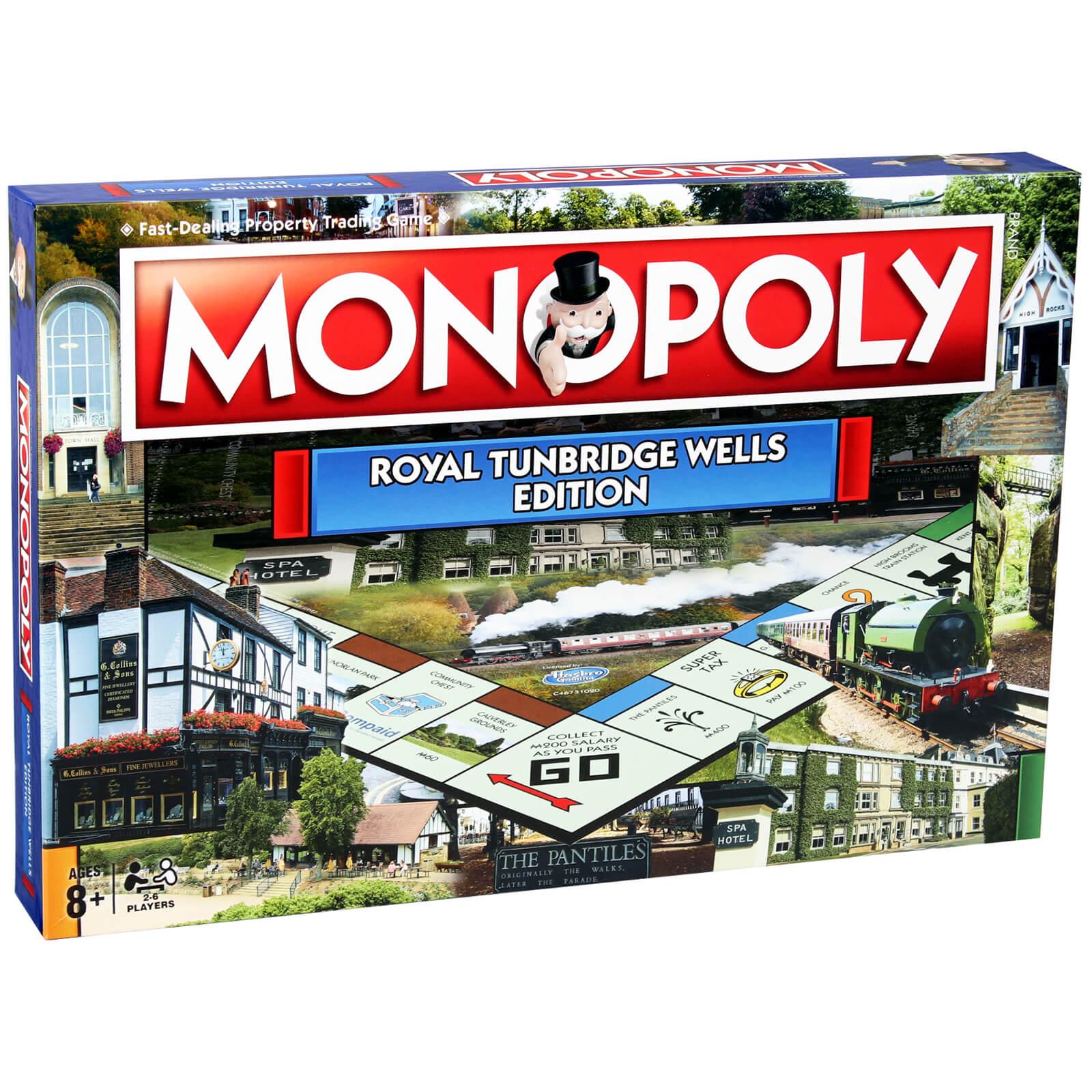 Image of Monopoly Board Game - Tunbridge Wells Edition