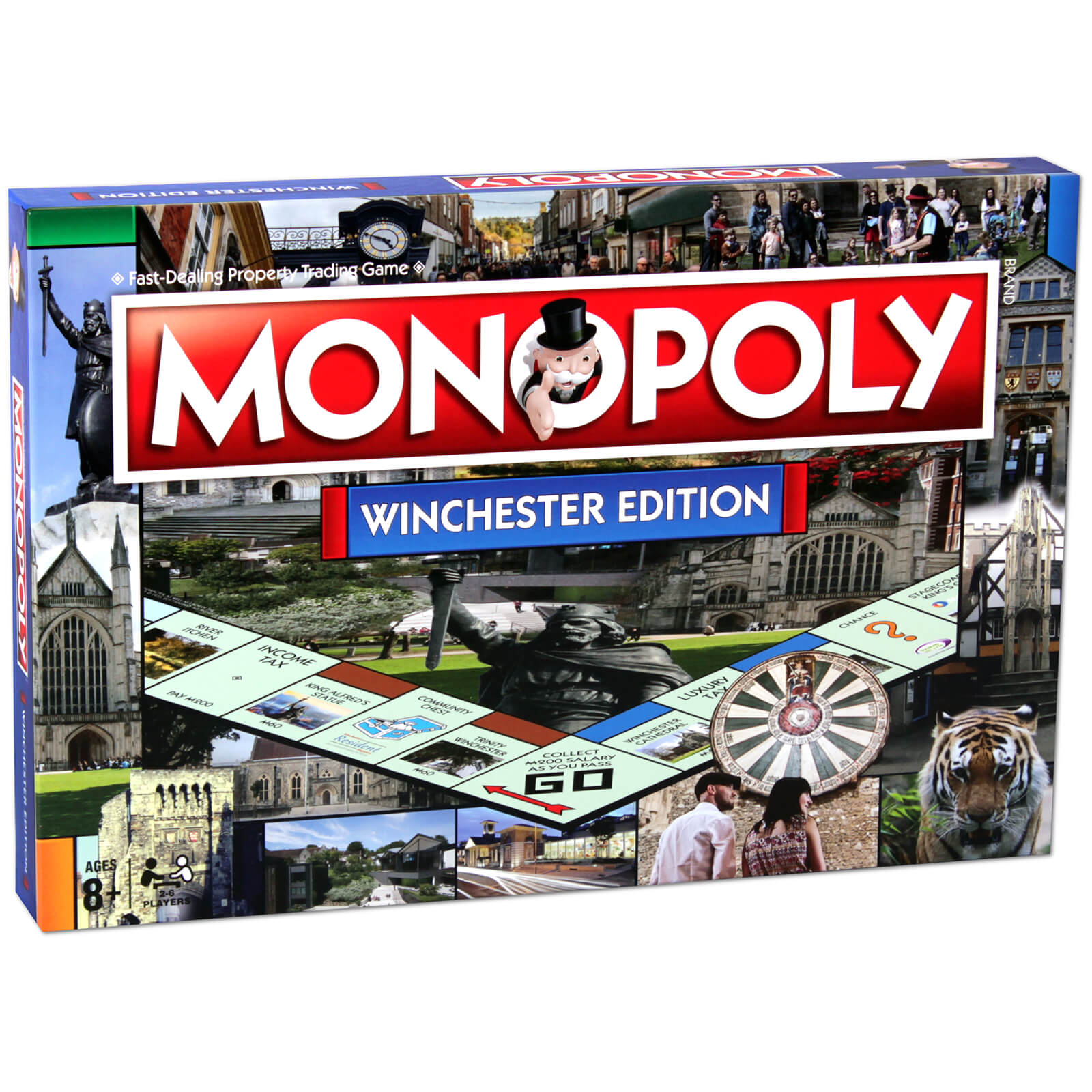 Image of Monopoly Board Game - Winchester Edition
