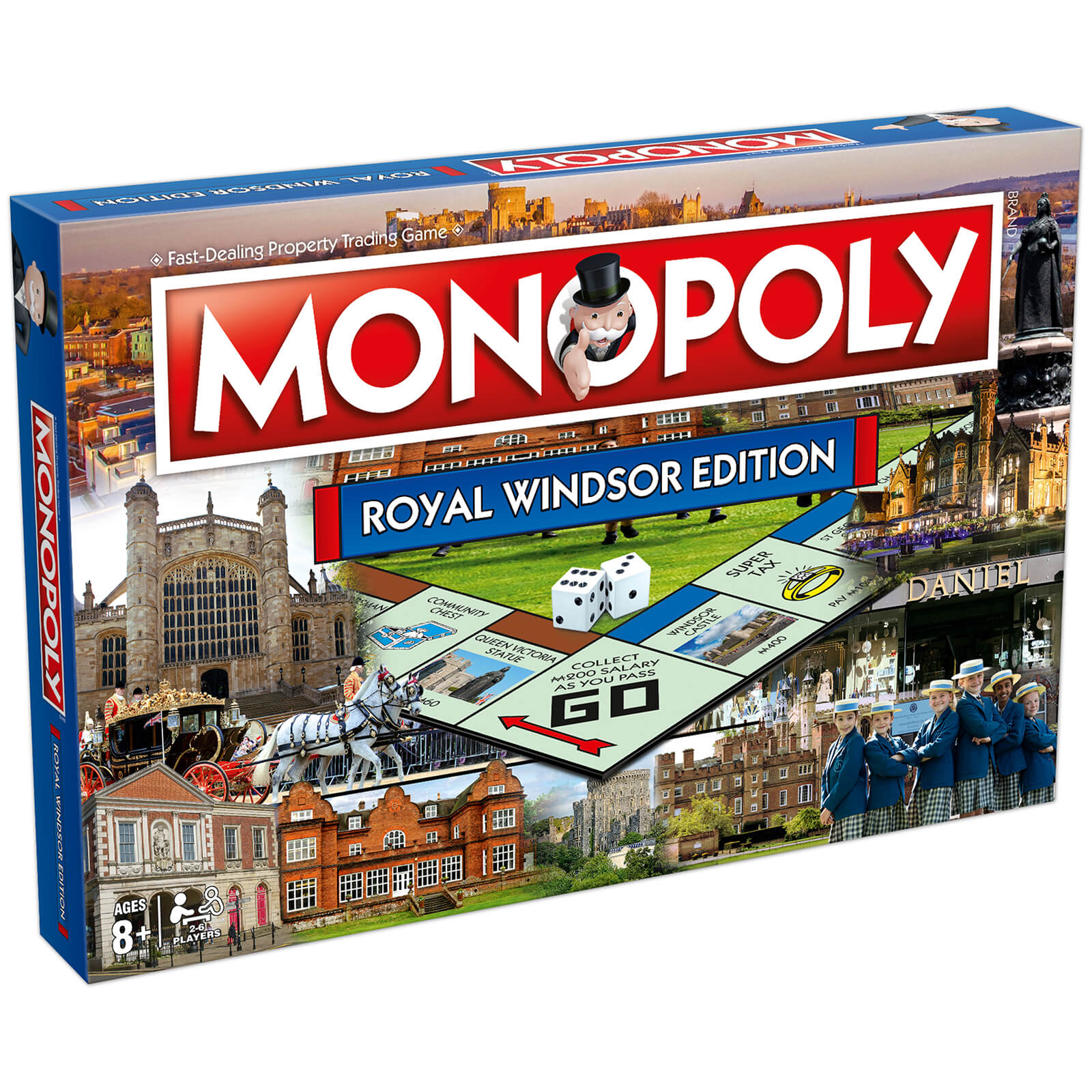 Image of Monopoly Board Game - Royal Windsor Edition