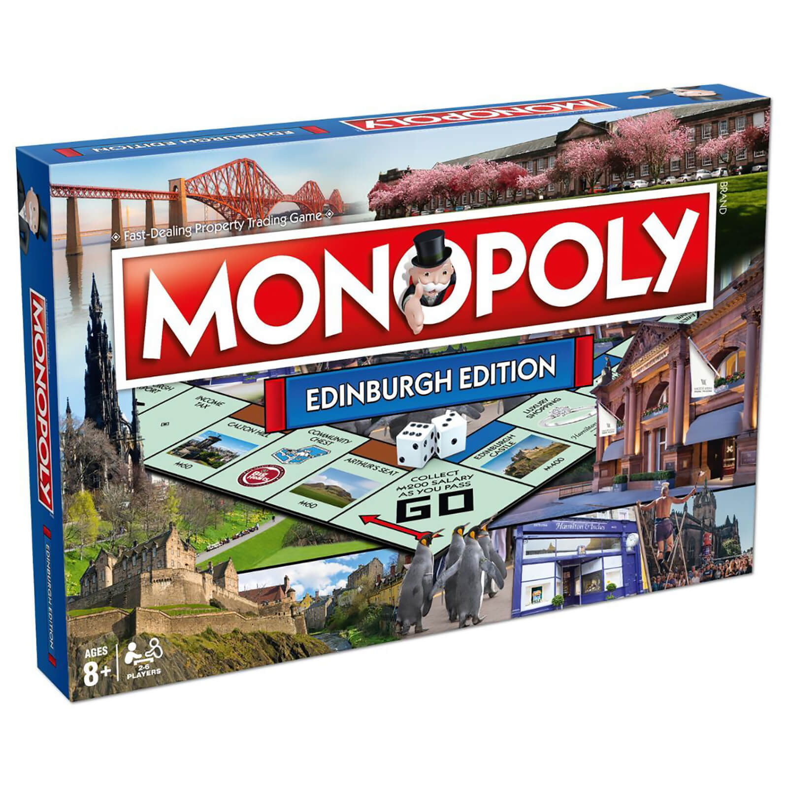 Monopoly Board Game   Edinburgh Edition