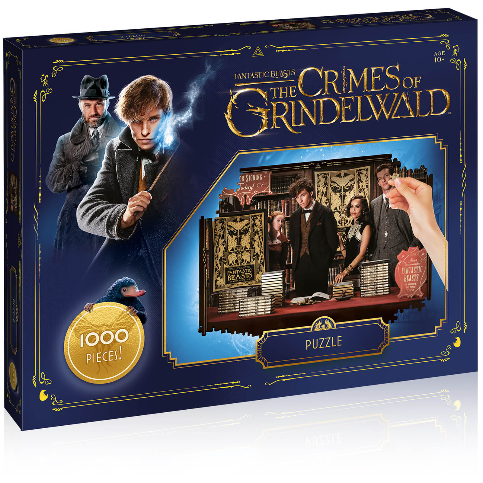 Image of 1000 Piece Jigsaw Puzzle - Fantastic Beasts Edition