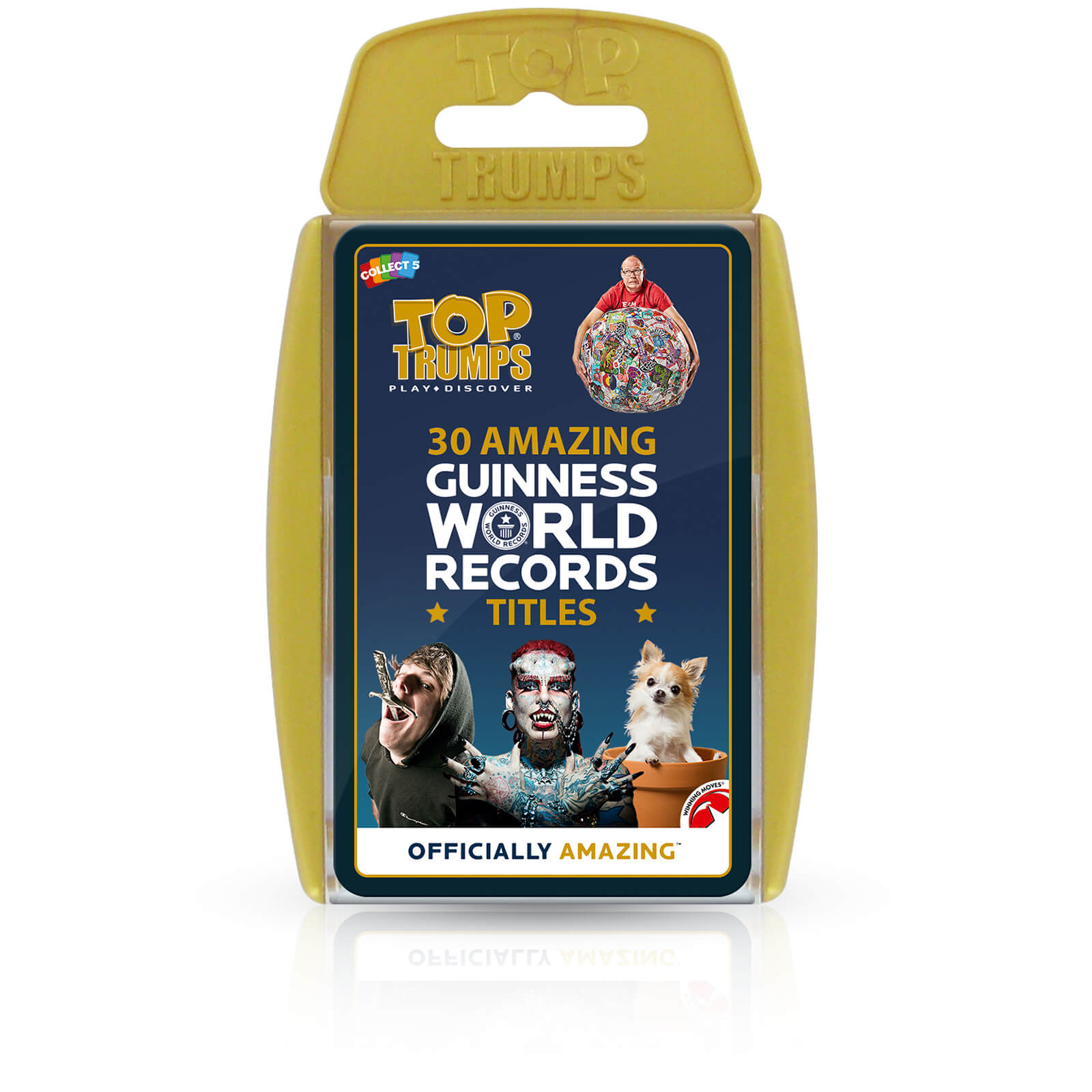 Image of Top Trumps Card Game - Guinness World Records Edition