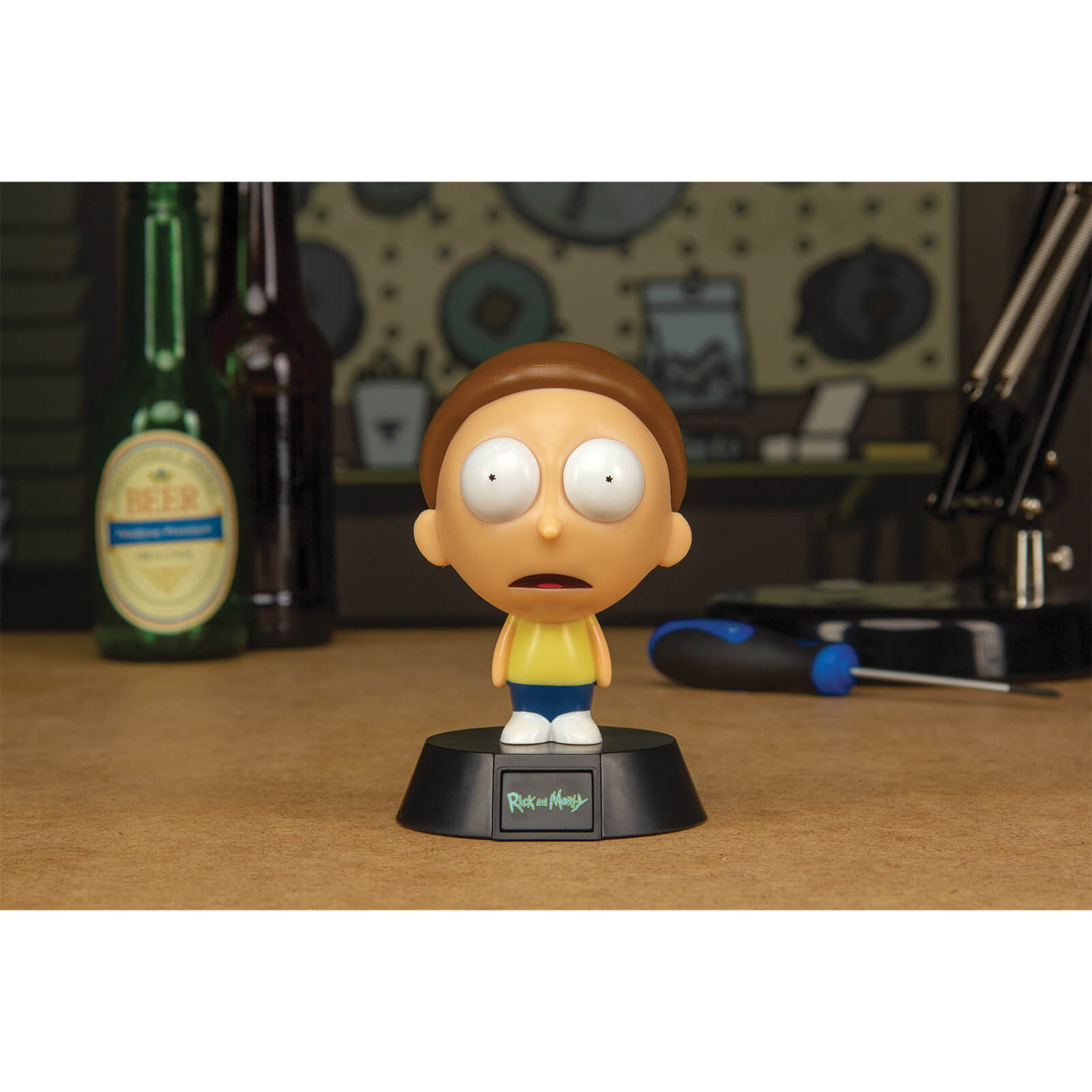 Image of Rick and Morty Morty Icon Light