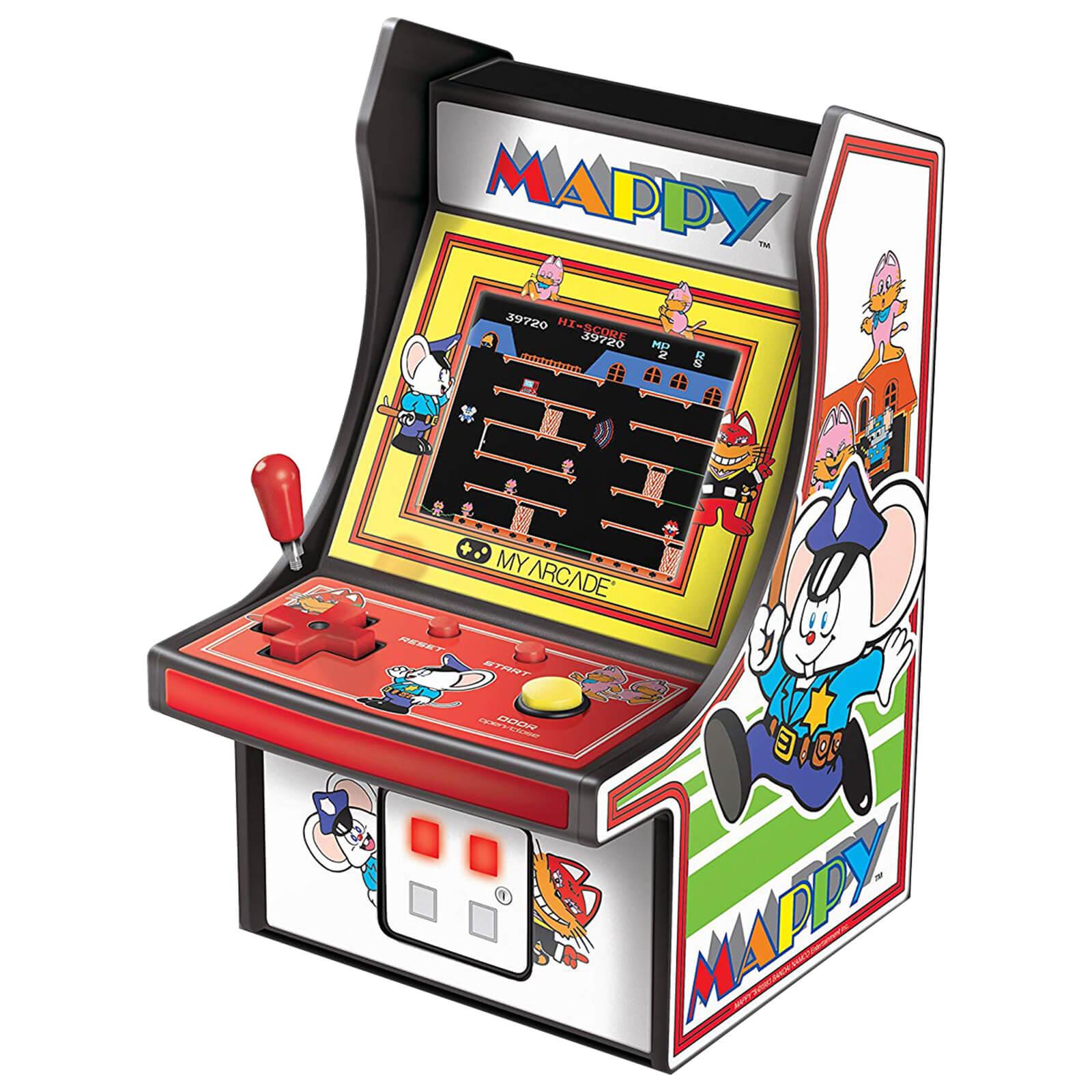 Image of DreamGear Retro Arcade 6 Inch Mappy Micro Player