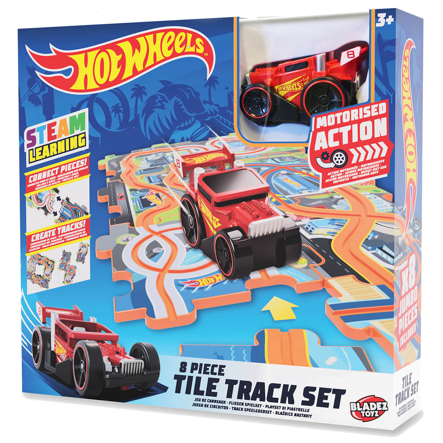 Hot Wheels Tile Track Set