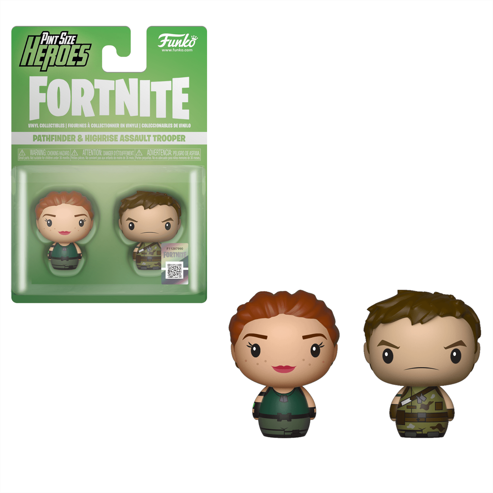 Funko Fortnite Pint Size Heroes Pathfinder And Highrise 2 Pack