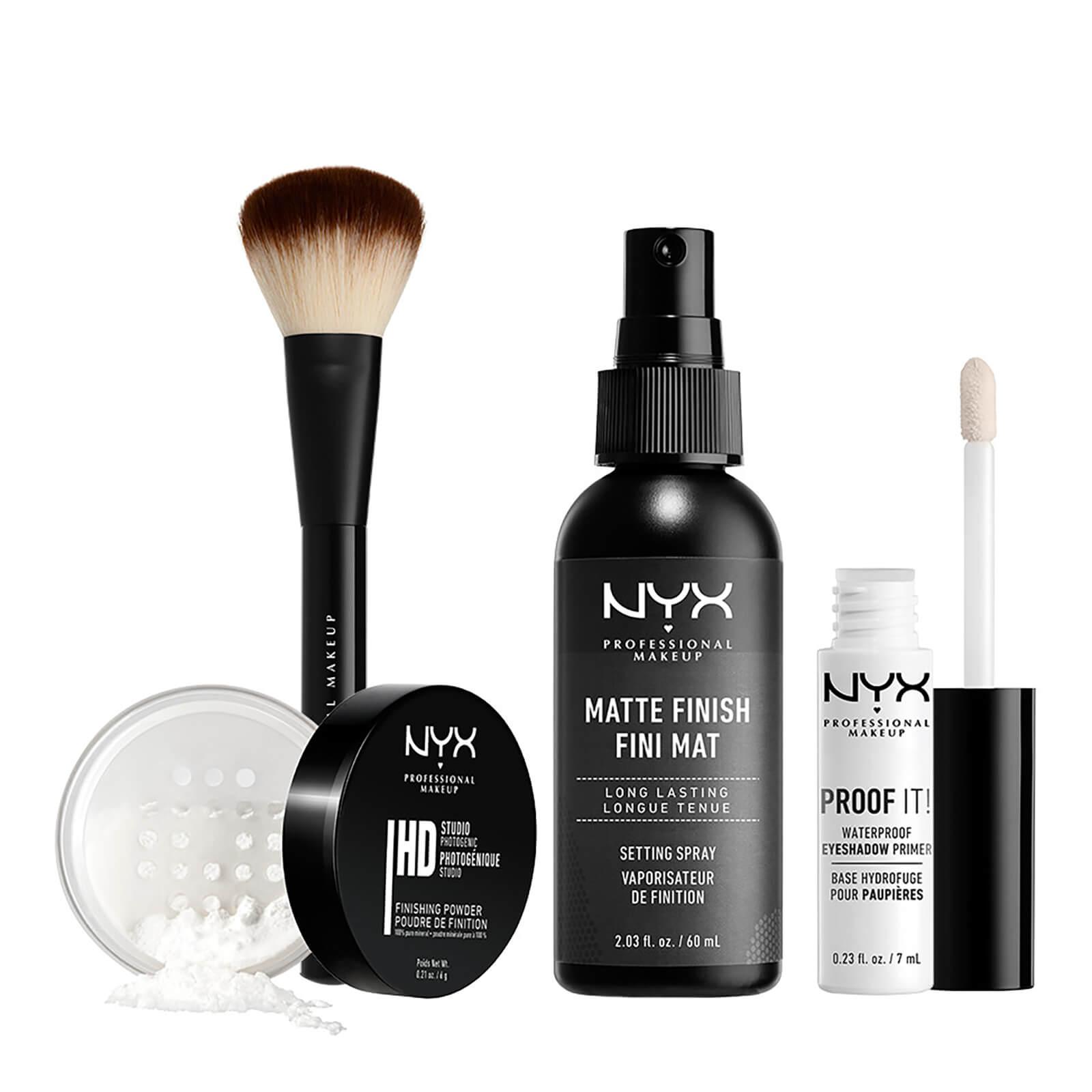 nyx professional makeup ultimate finish setting kit (worth £36.00)