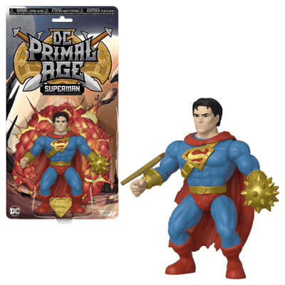 Superman Primal Age Dc! Vinyl Figure