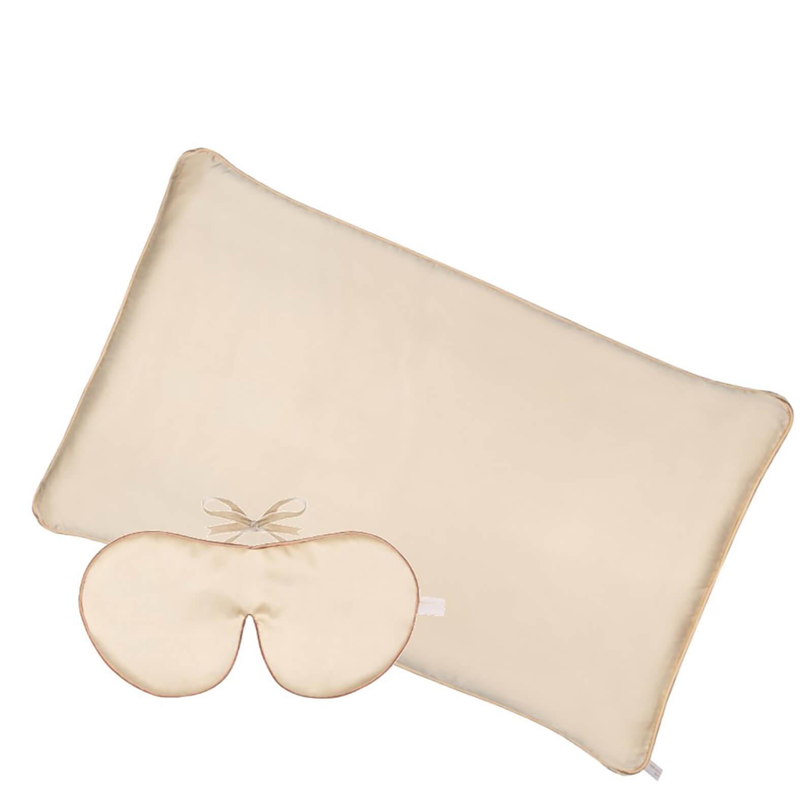Holistic Silk Anti-Ageing Rejuvenating Sleep Set - Cream (Worth £145.00)