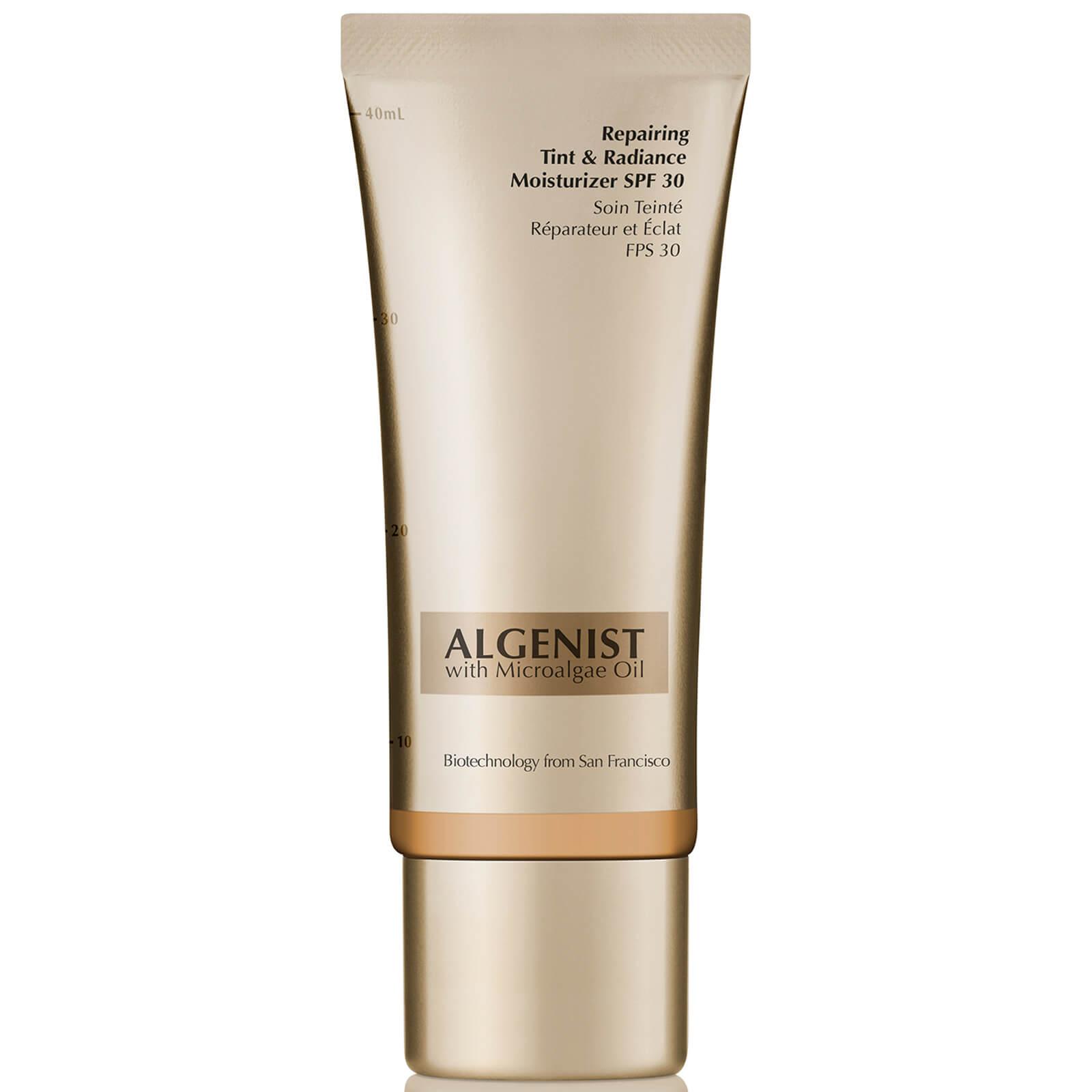 algenist repairing tint & radiance spf30 moisturiser 40ml (various shades) - tan