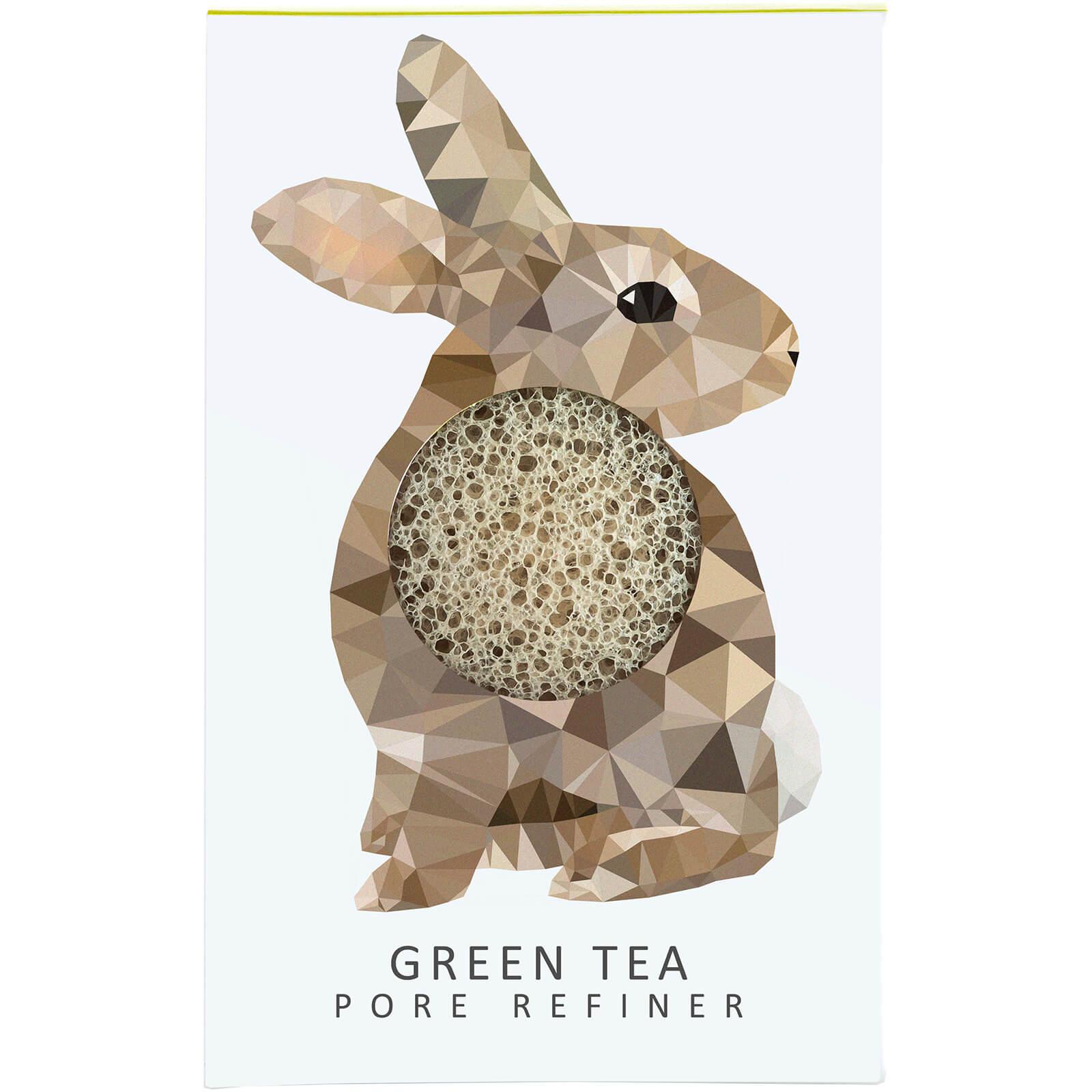 Купить Мини-спонж для лица The Konjac Sponge Company Woodland Rabbit Pure Konjac Mini Pore Refiner — Green Tea 12 г