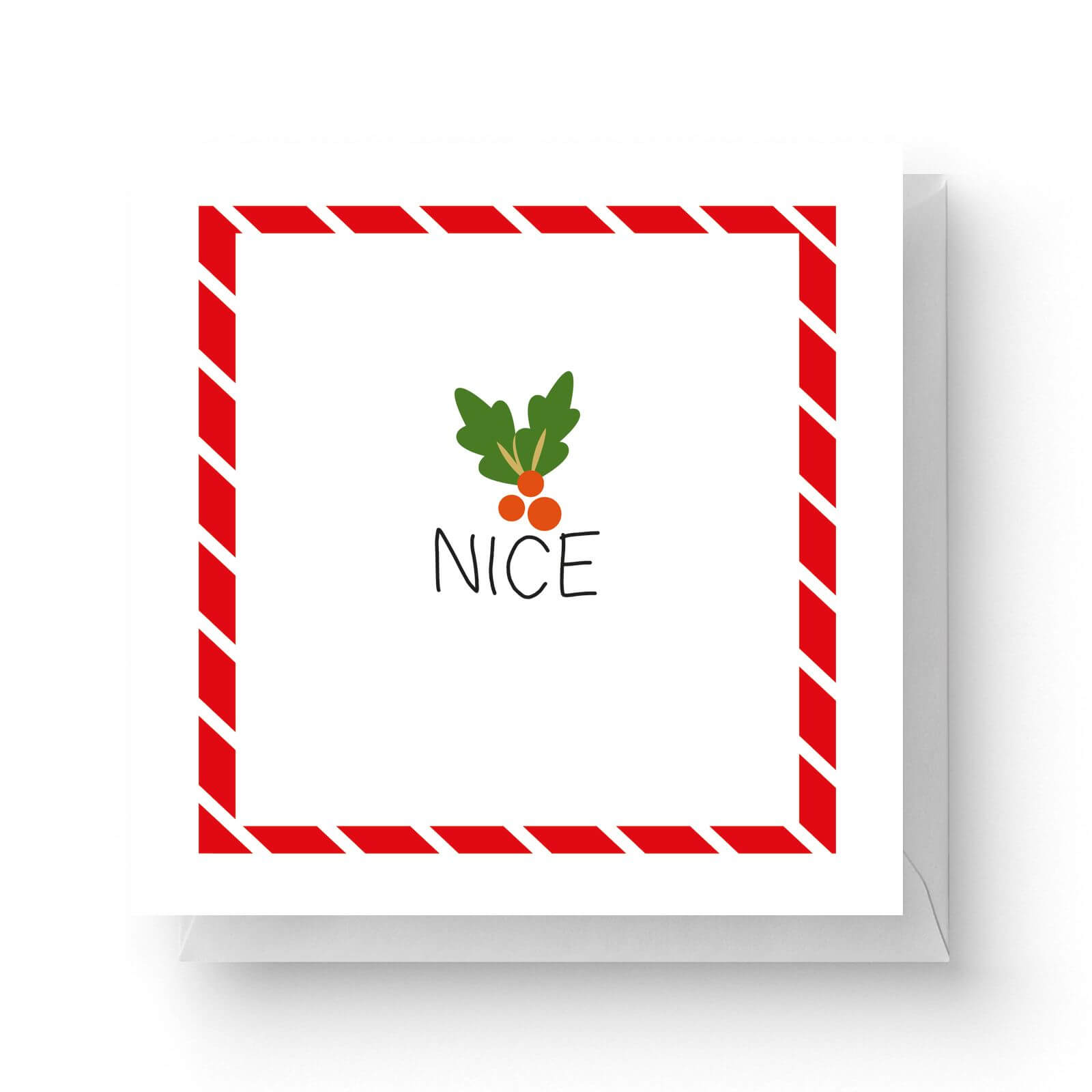 Image of Nice Square Greetings Card (14.8cm x 14.8cm)