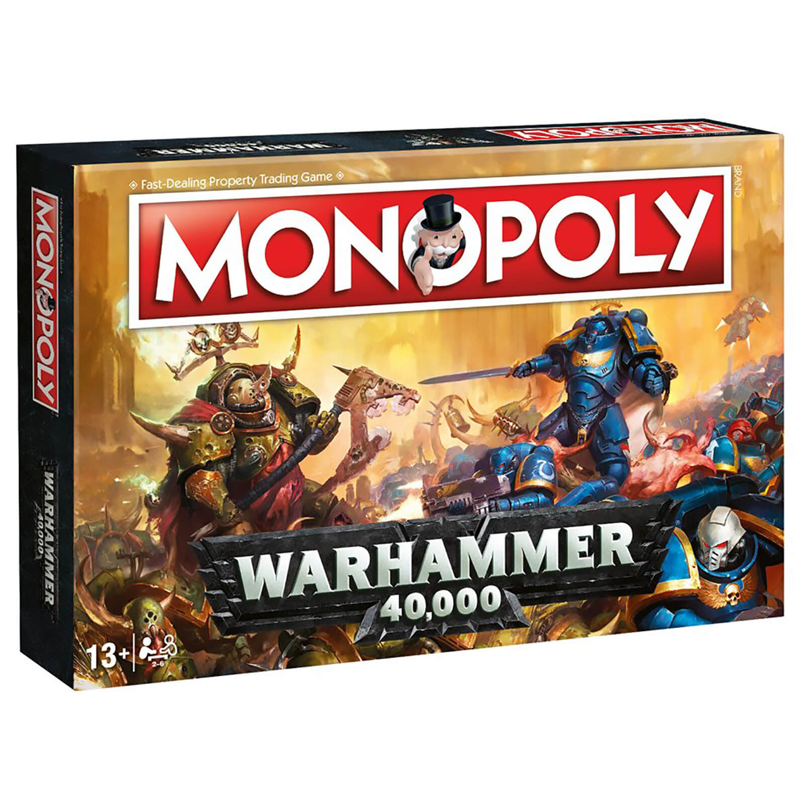 Monopoly Board Game   Warhammer Edition