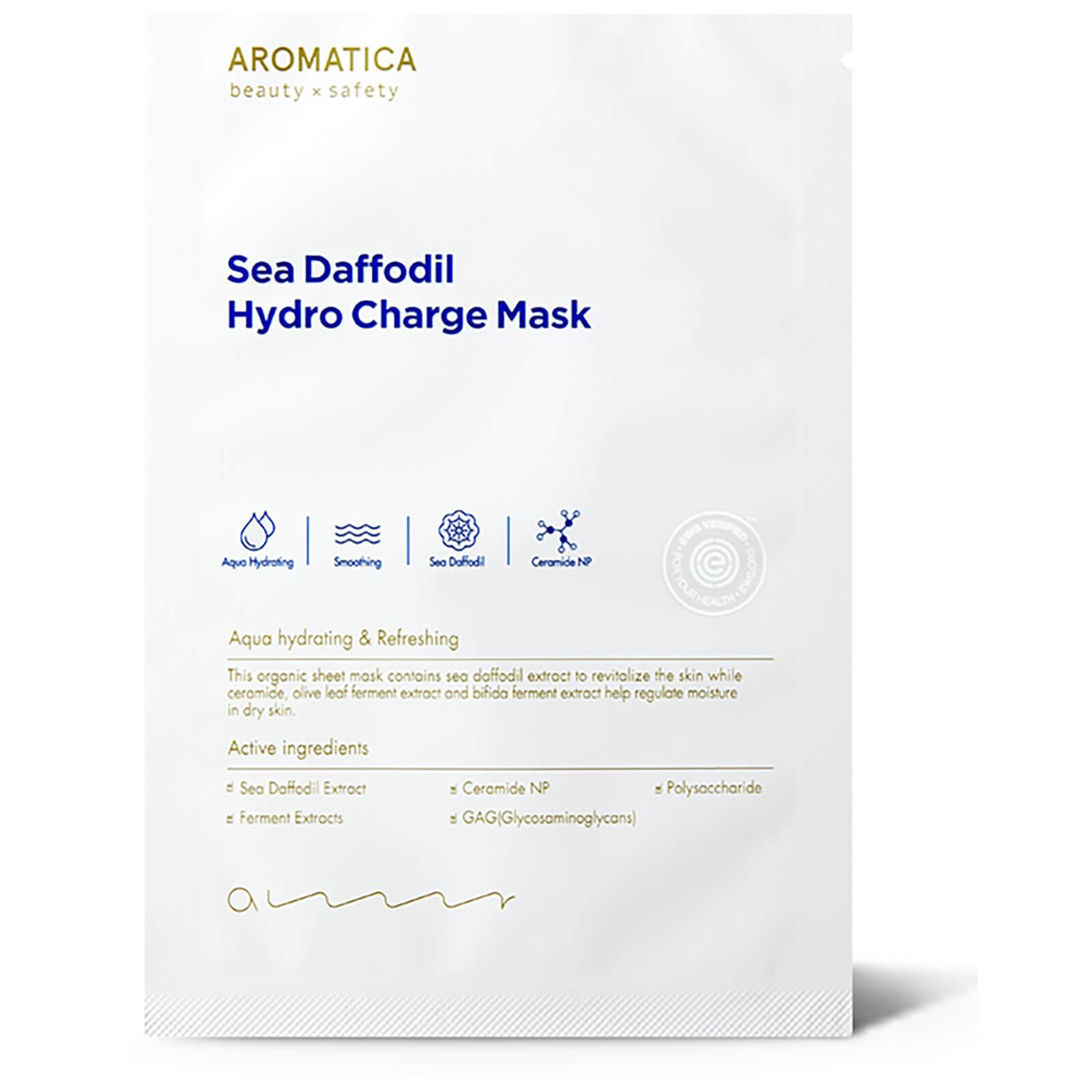 Увлажняющая маска для лица AROMATICA Sea Daffodil Hydro Charge Mask (1 шт.)  - Купить