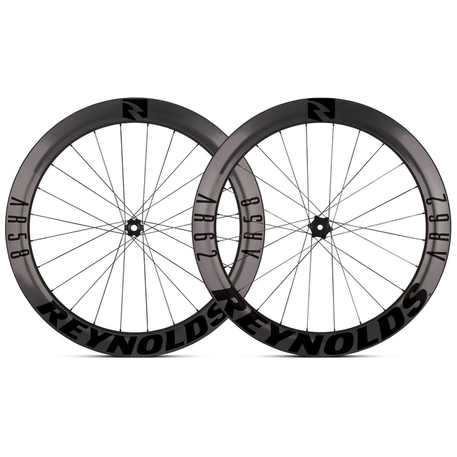 reynolds ar 58/62 carbon clincher disc wheelset 2019 - shimano/sram - black