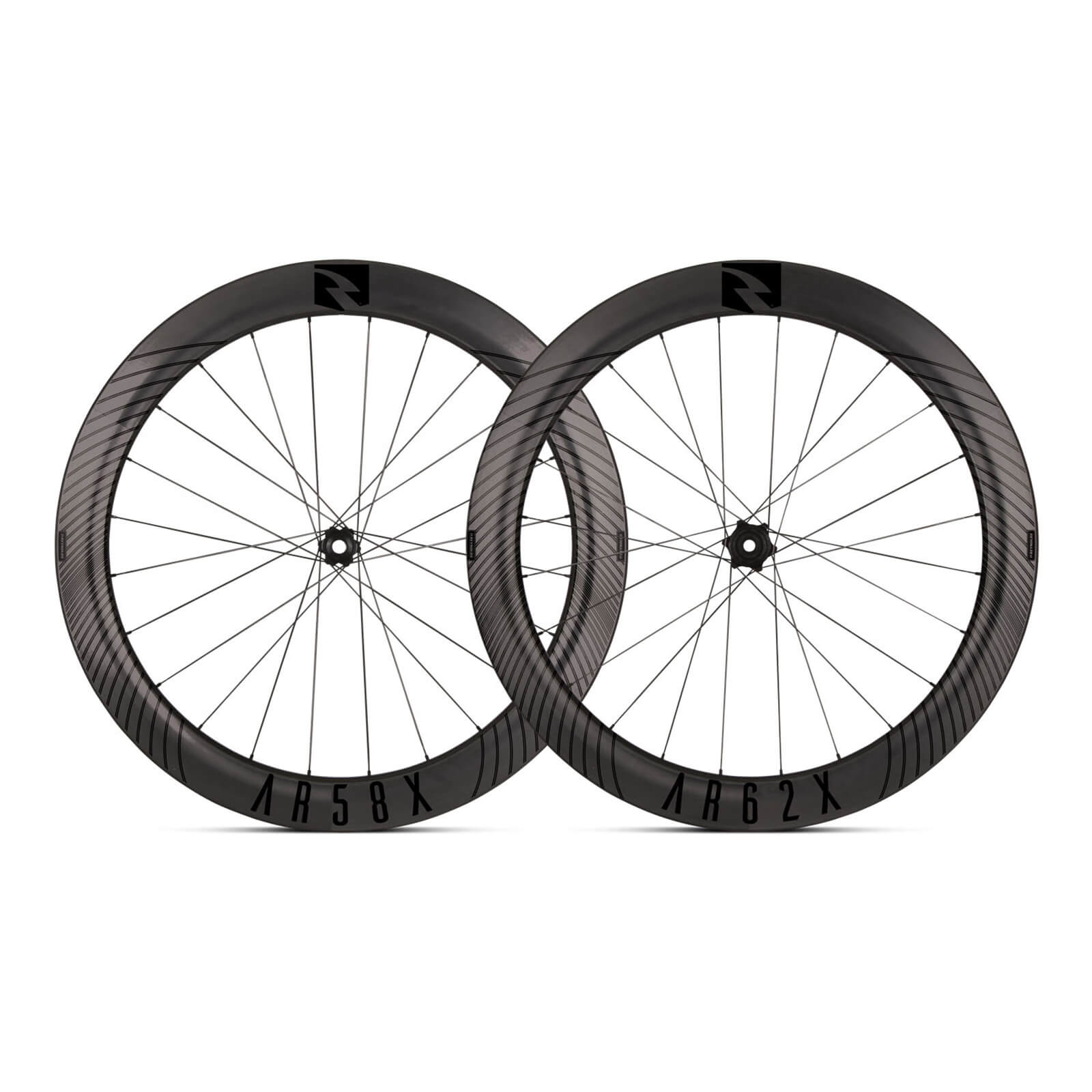 Reynolds ARX 58/62x Carbon Clincher Disc Wheelset - Shimano/SRAM  - Schwarz