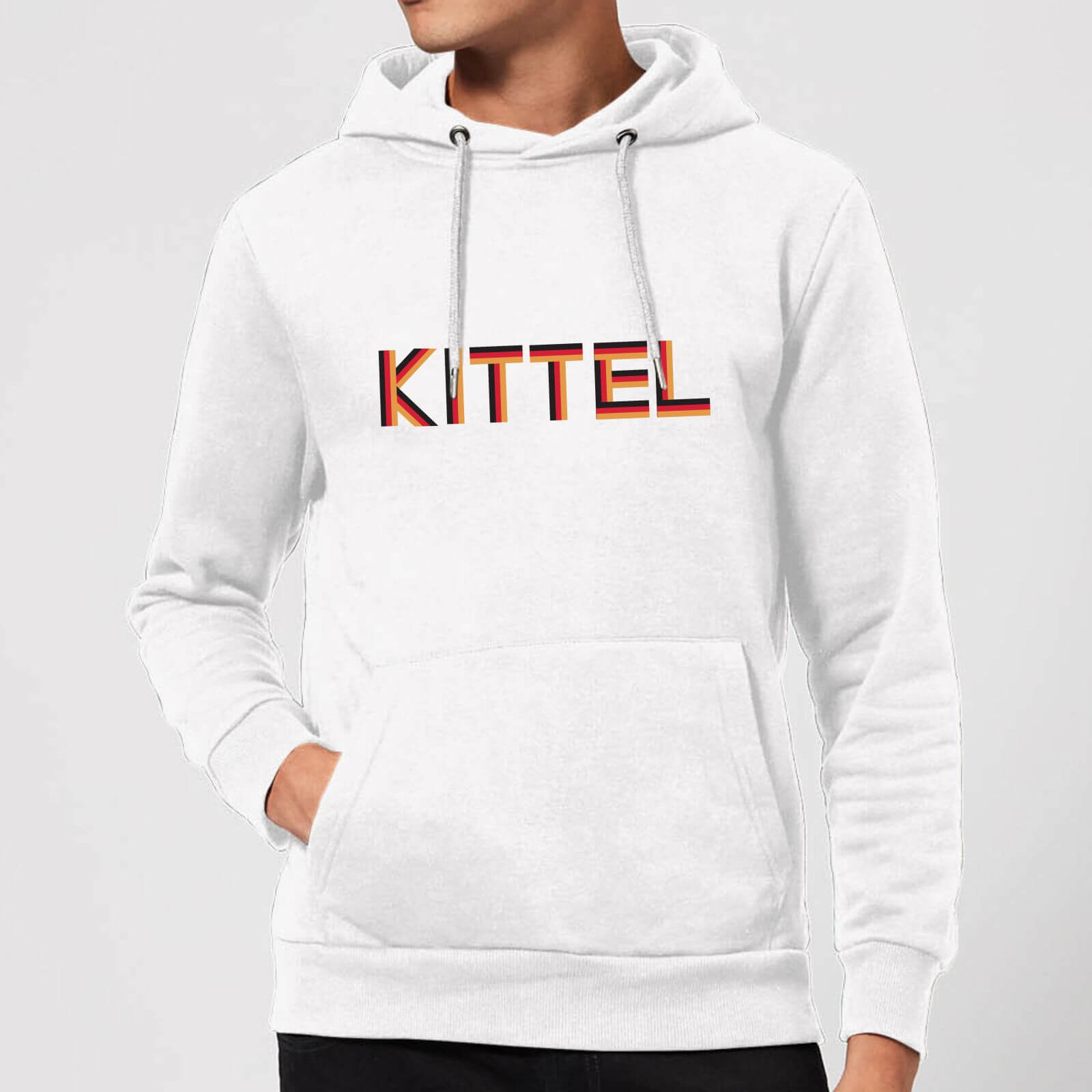 Summit Finish Kittel - Rider Name Hoodie - White - XXL - Weiß