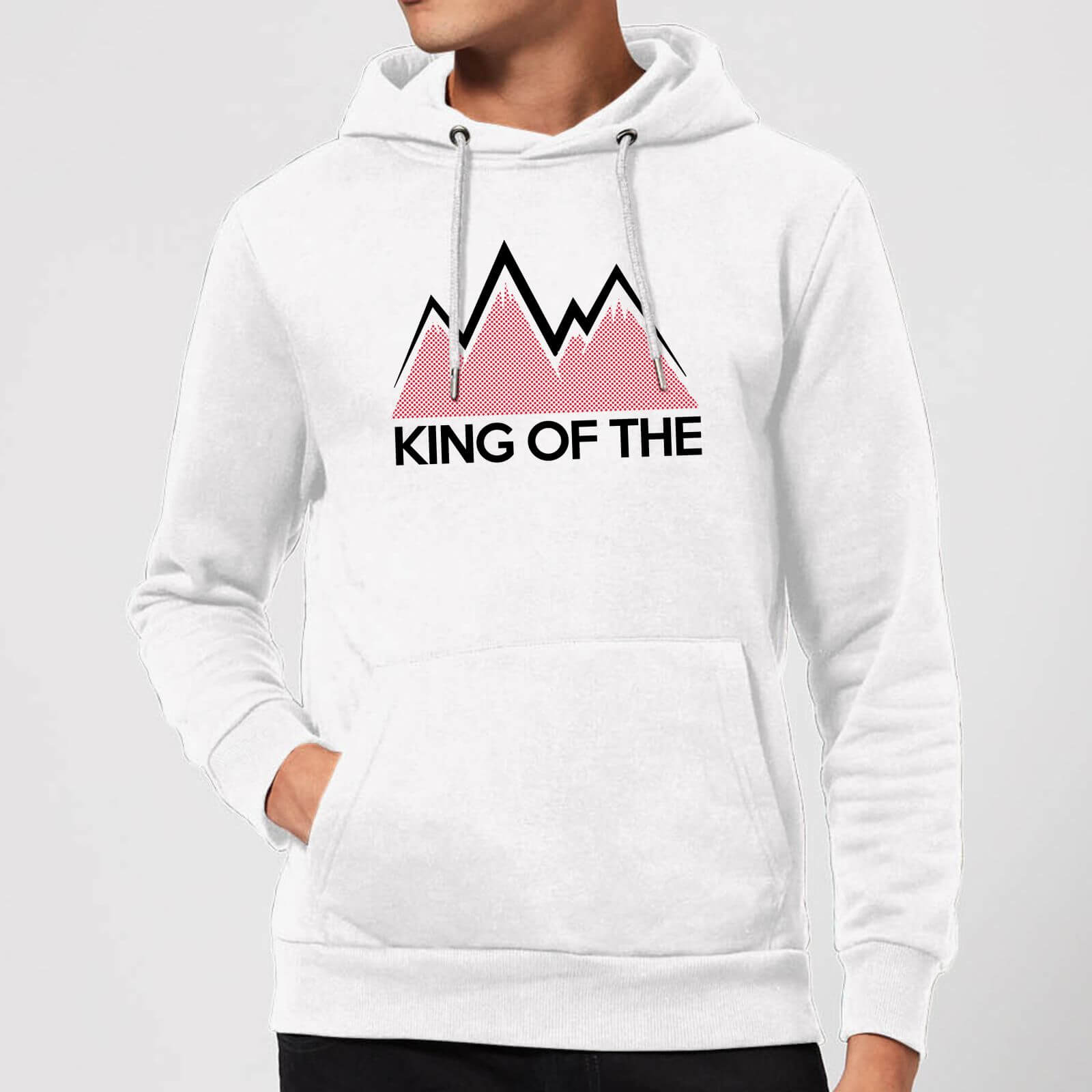 Summit Finish King Of The Mountains Hoodie - White - M - Weiß