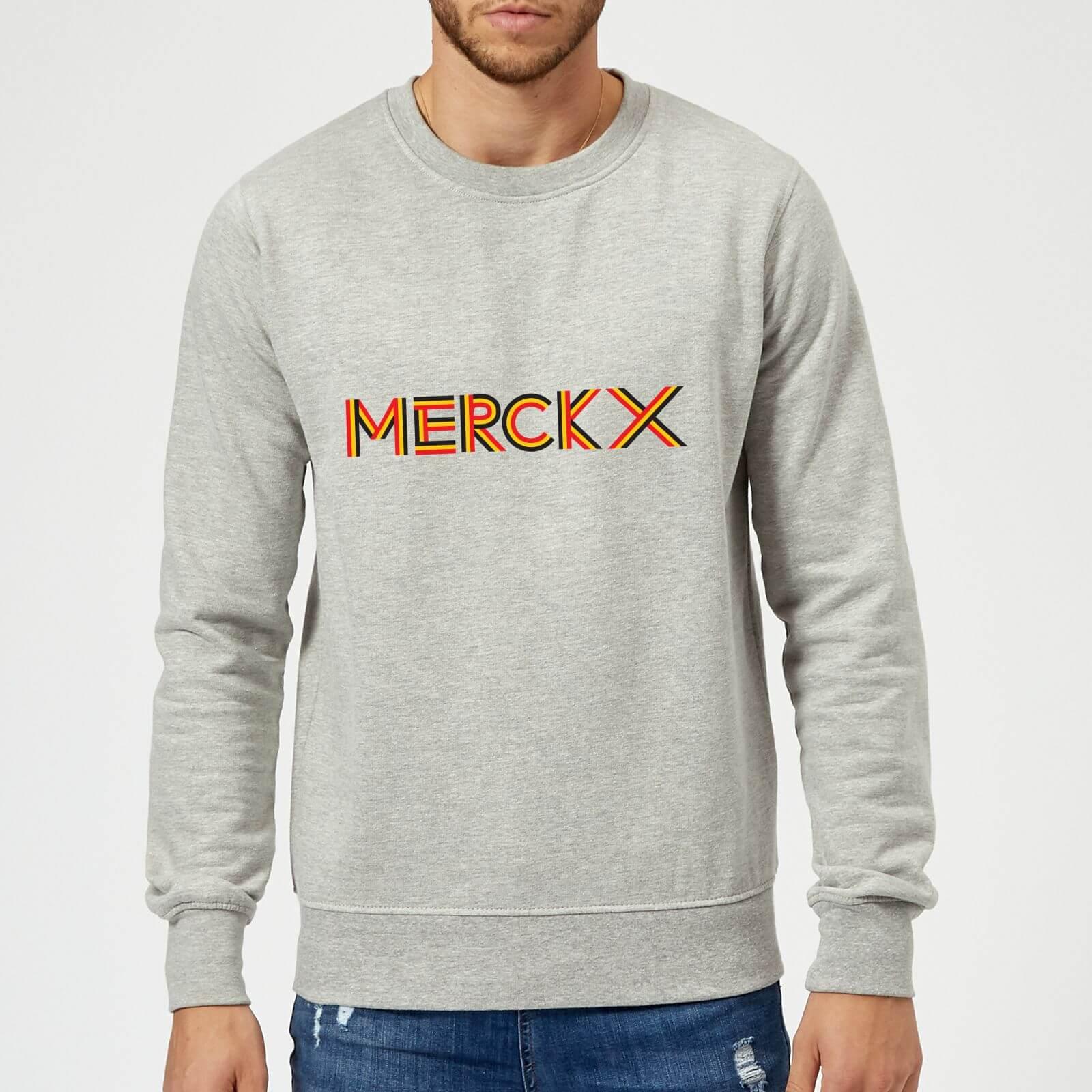 Summit Finish Merckx - Rider Name Sweatshirt - Grey - XL - Grey