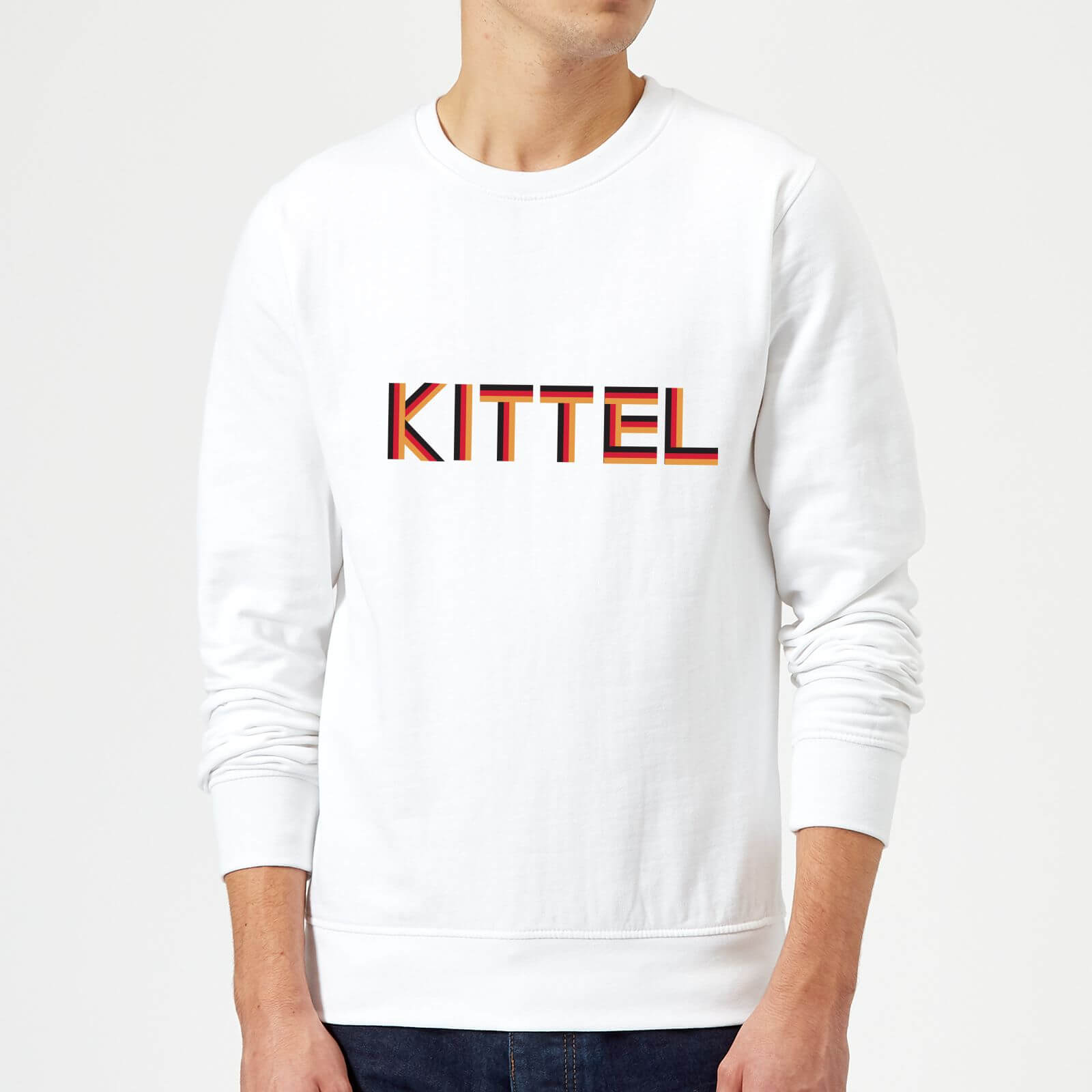 Summit Finish Kittel - Rider Name Sweatshirt - White - XL - White