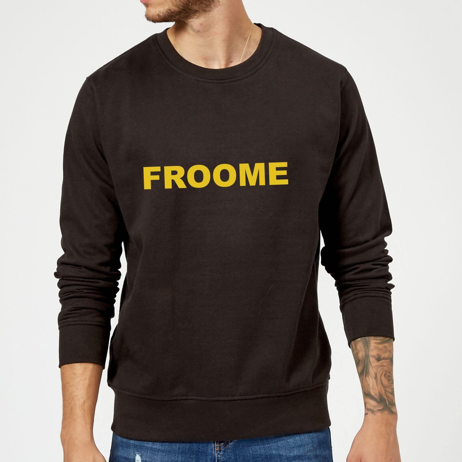Summit Finish Froome - Rider Name Sweatshirt - Black - XL - Black