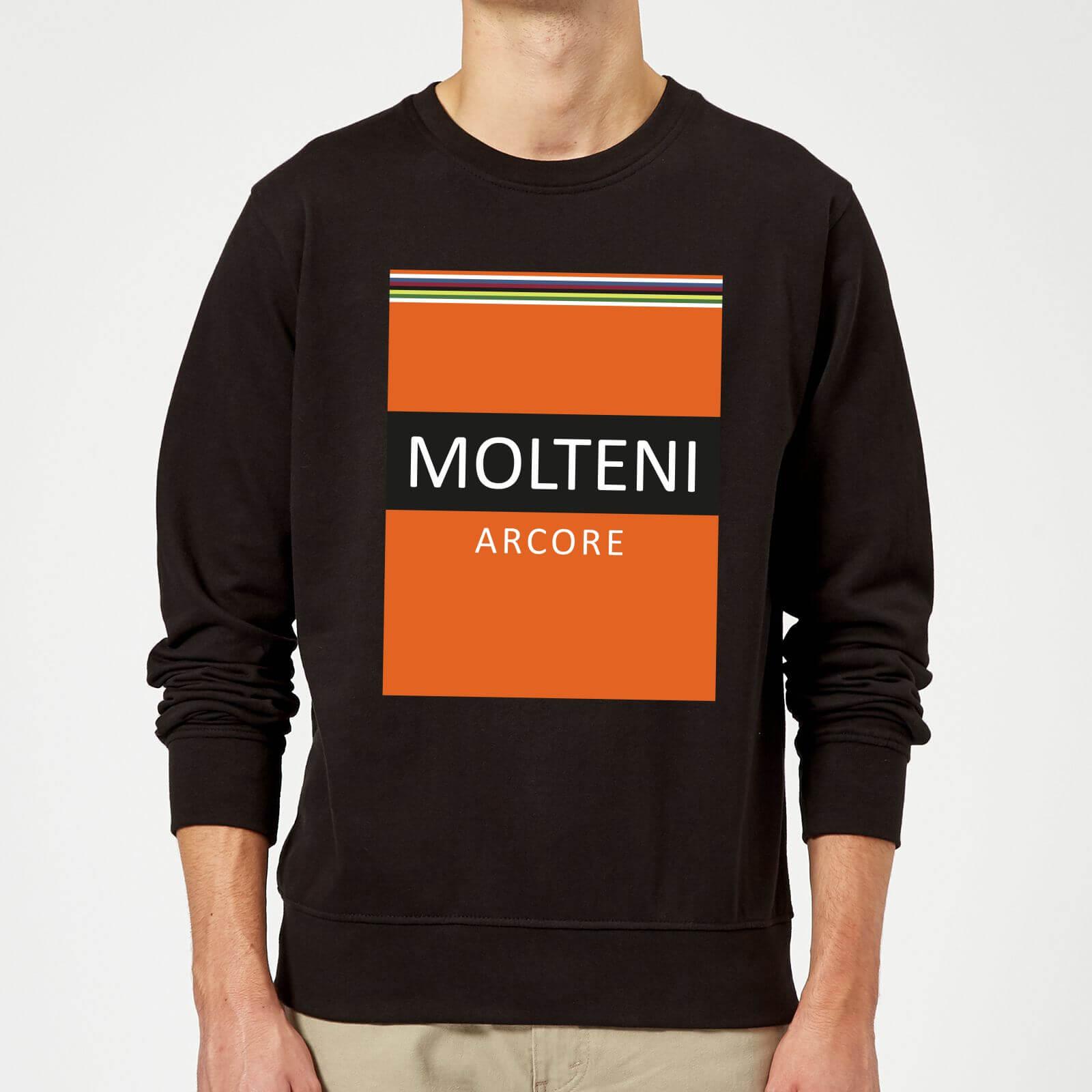 Summit Finish Molteni Sweatshirt - Black - S - Schwarz