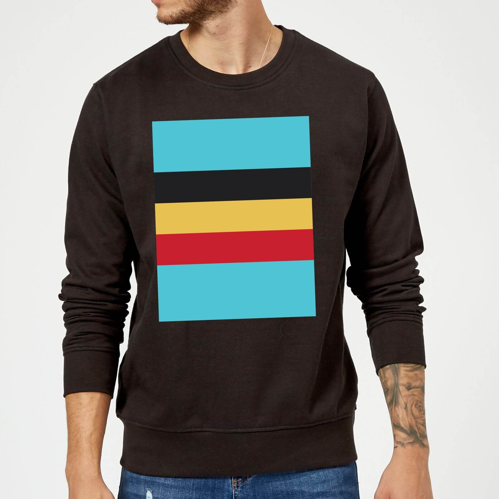 Summit Finish Belgium Flag Sweatshirt - Black - S - Black
