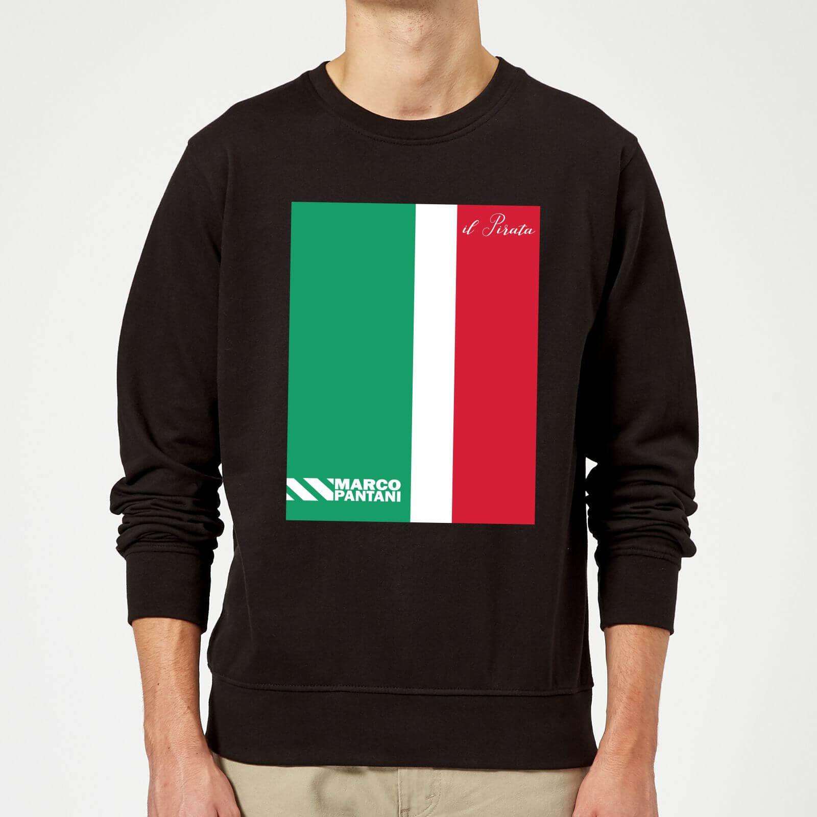 Summit Finish Pantani Il Pirata Sweatshirt - Black - XL - Black
