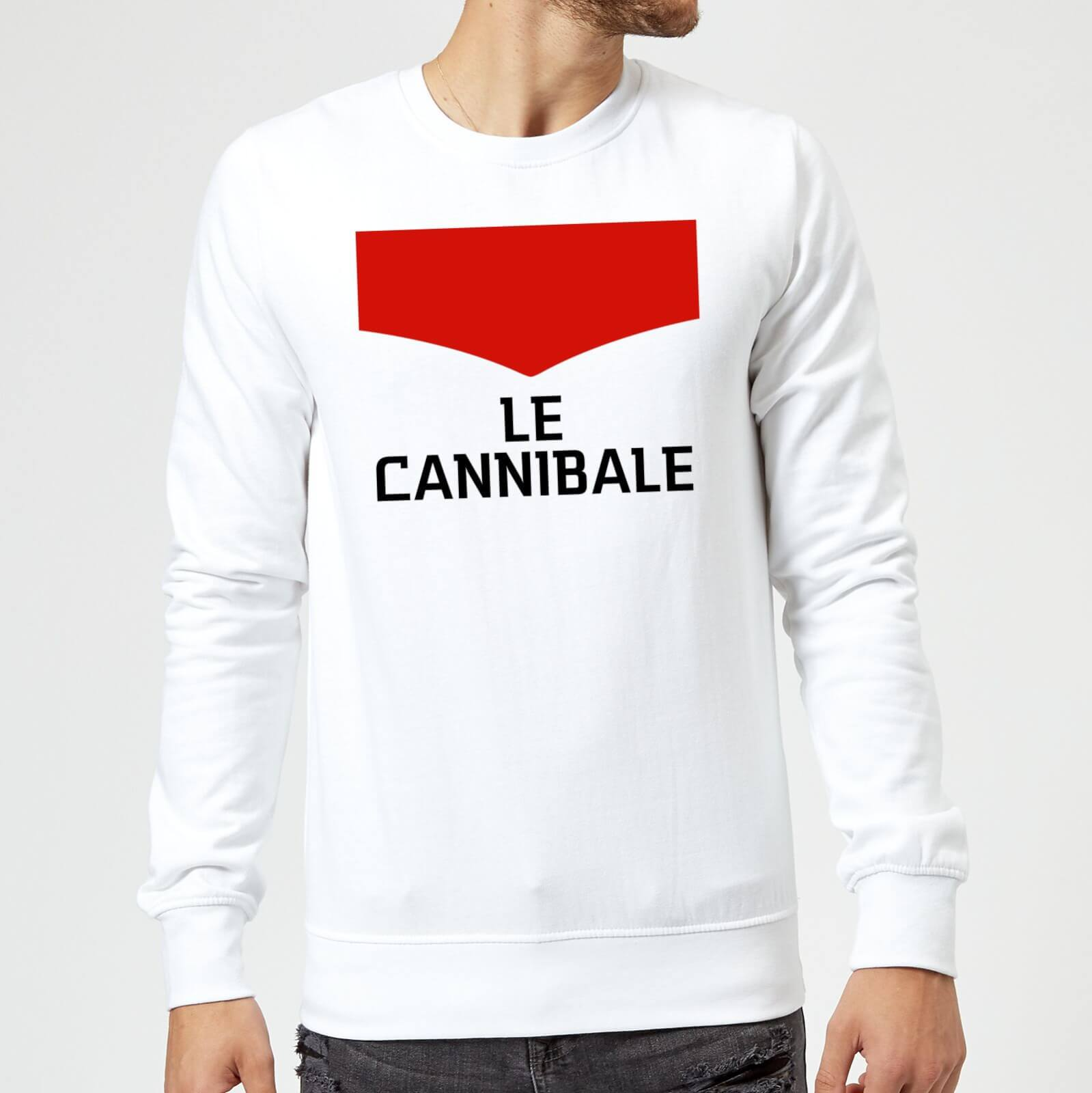 Summit Finish Le Cannibale Sweatshirt - White - XXL - White