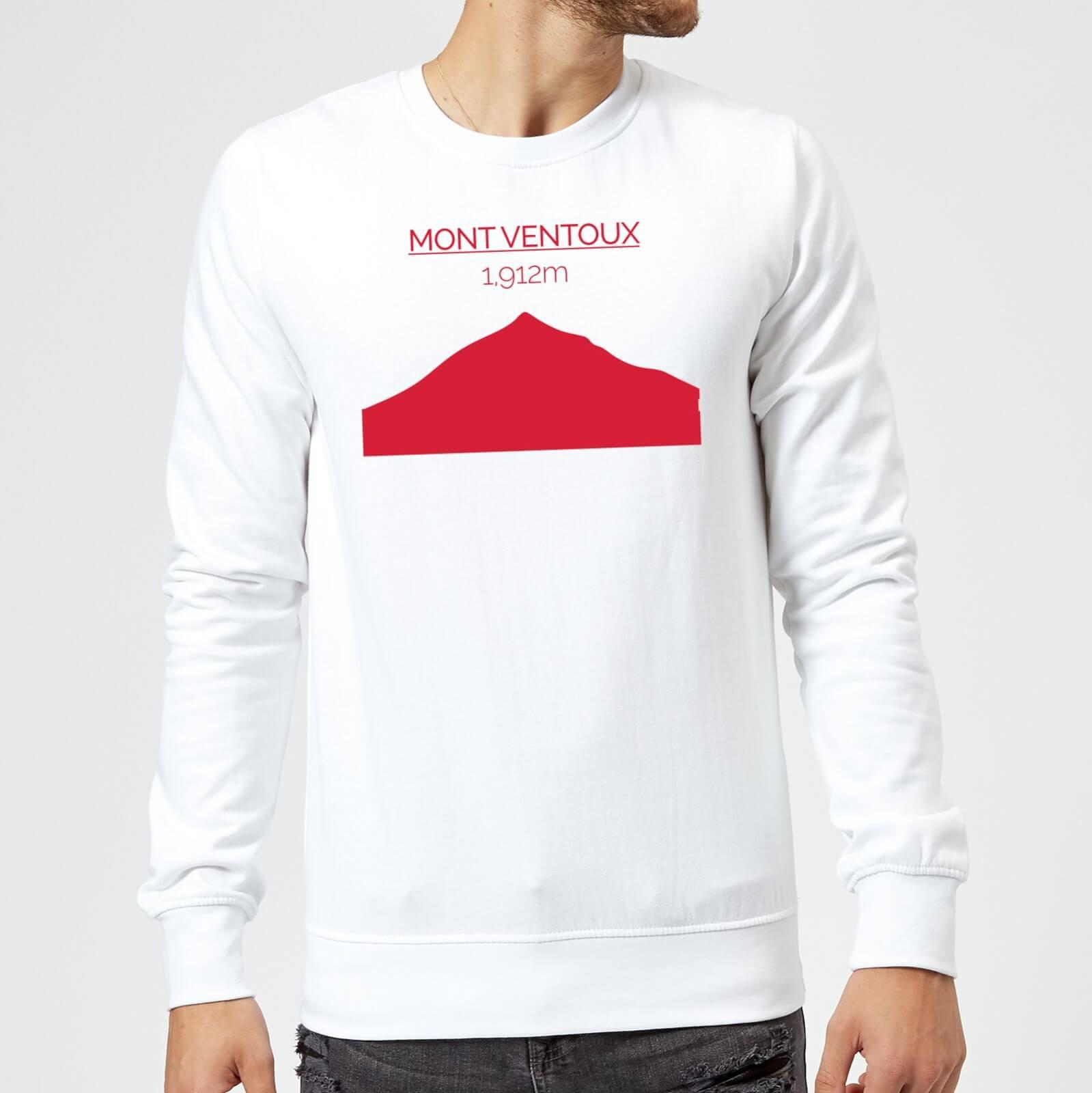 Summit Finish Mont Ventoux Sweatshirt - White - S - Weiß