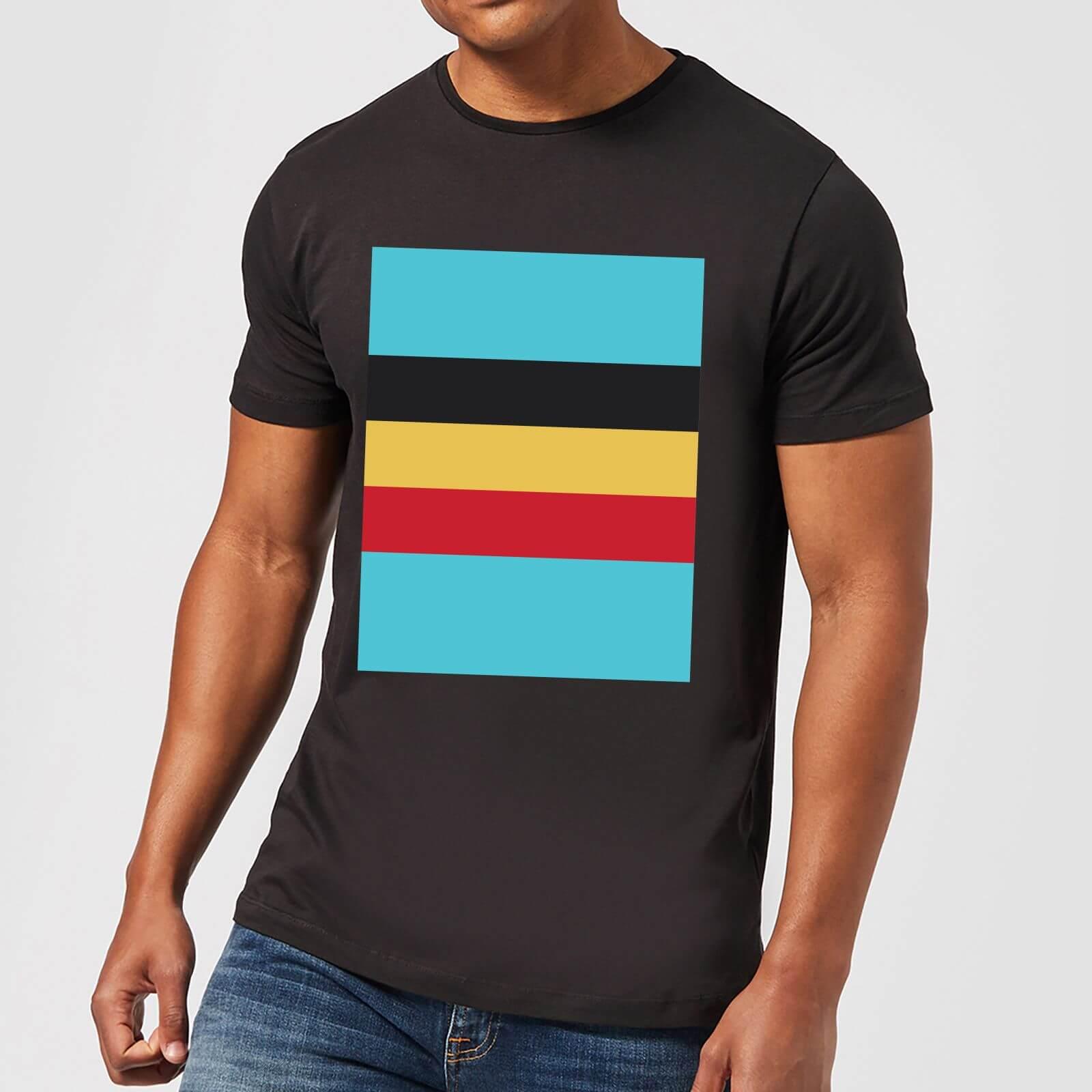 Summit Finish Belgium Flag Men's T-Shirt - Black - 5XL - Black