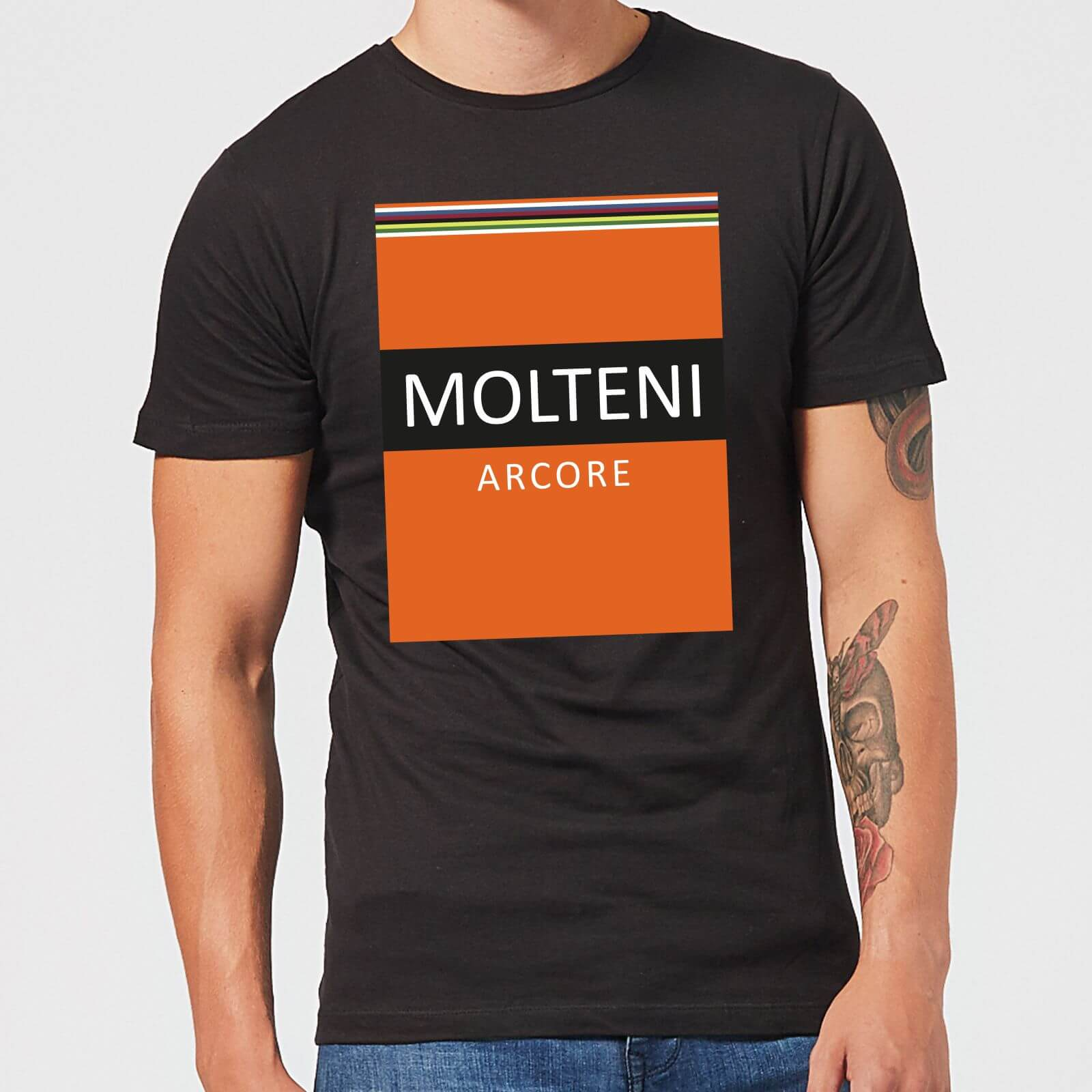 Summit Finish Molteni Men's T-Shirt - Black - S - Schwarz