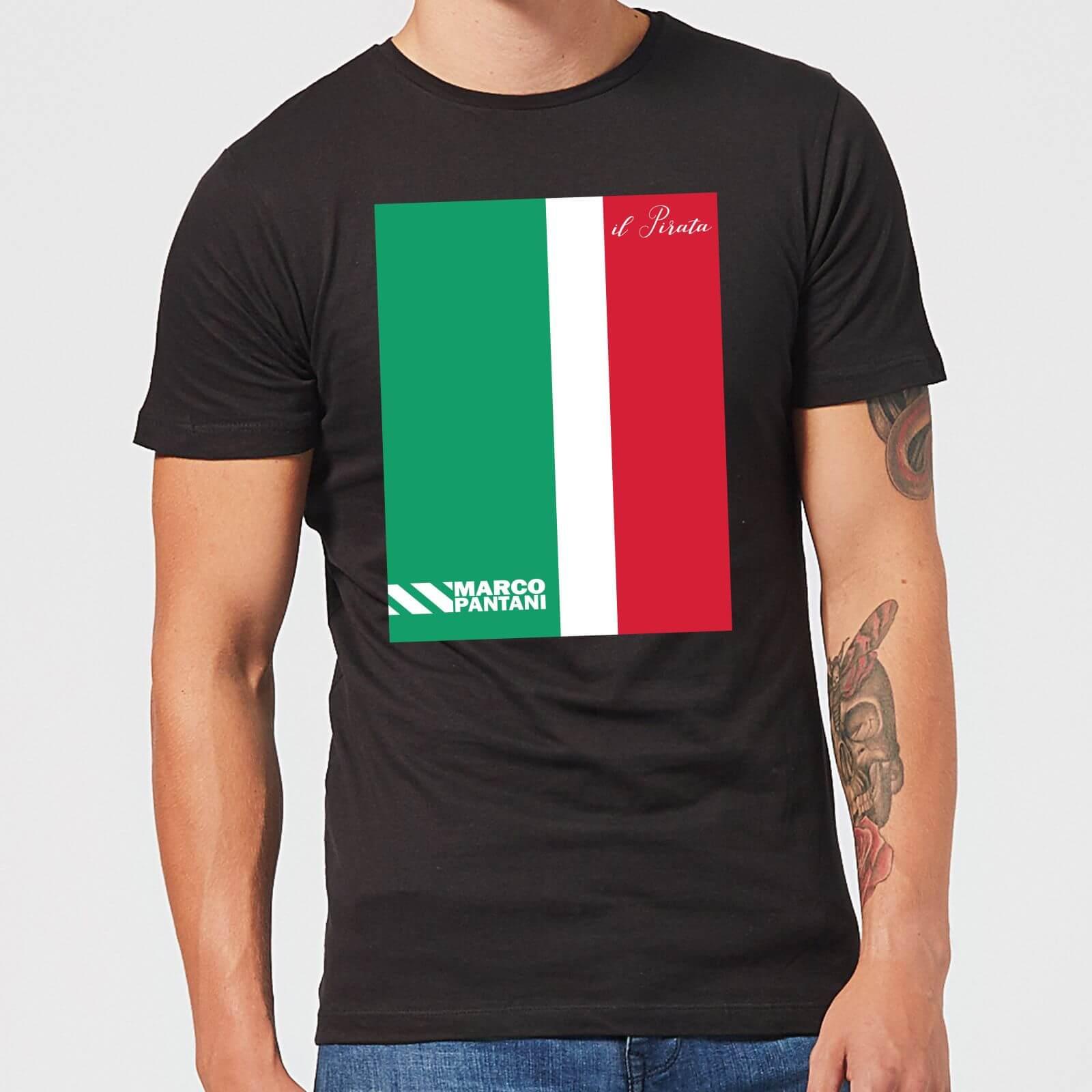 Summit Finish Pantani Il Pirata Men's T-Shirt - Black - 3XL - Black