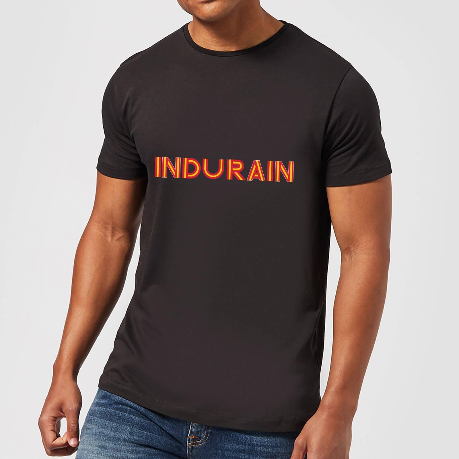 Summit Finish Indurain - Rider Name Men's T-Shirt - Black - 4XL - Schwarz