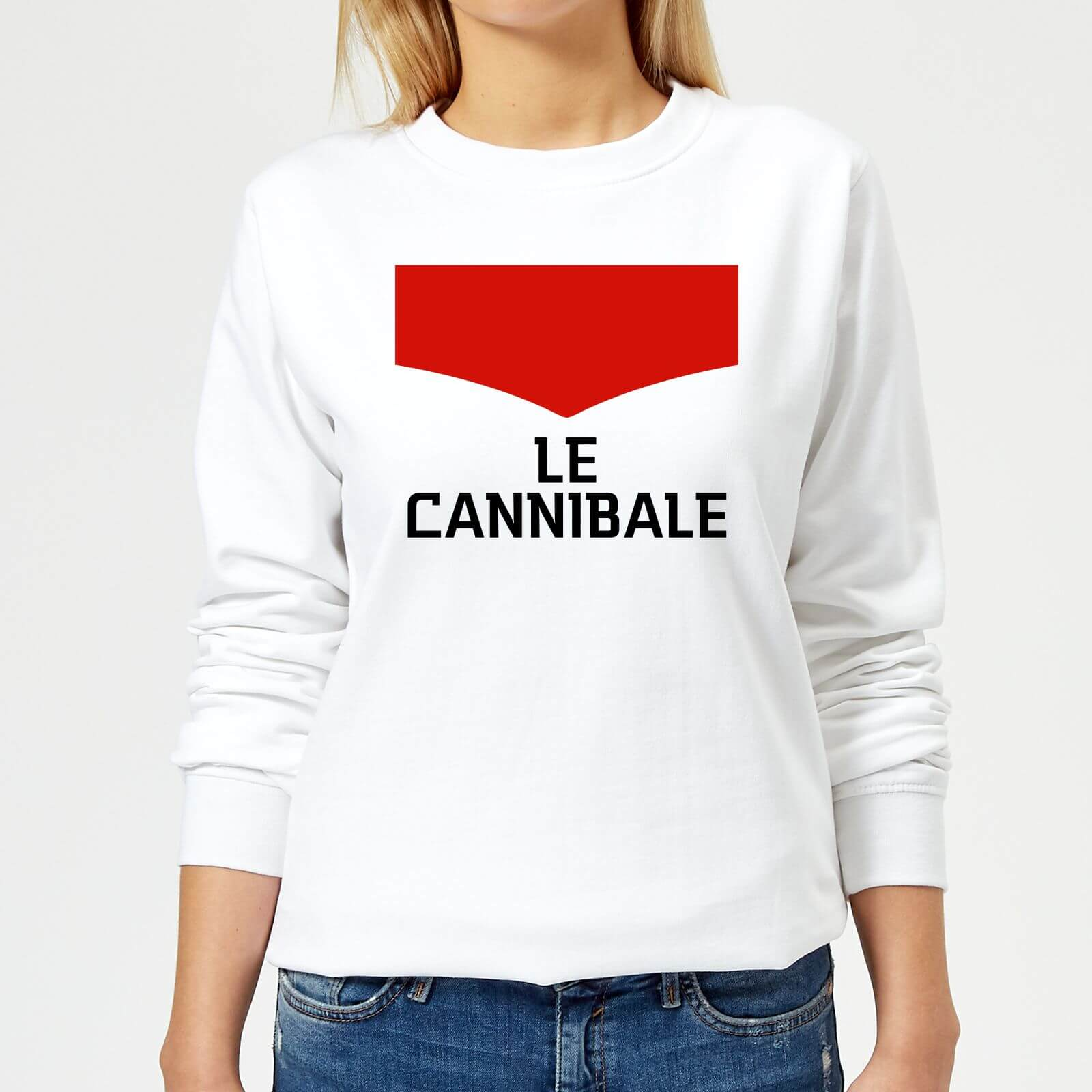 Summit Finish Le Cannibale Women's Sweatshirt - White - M - White