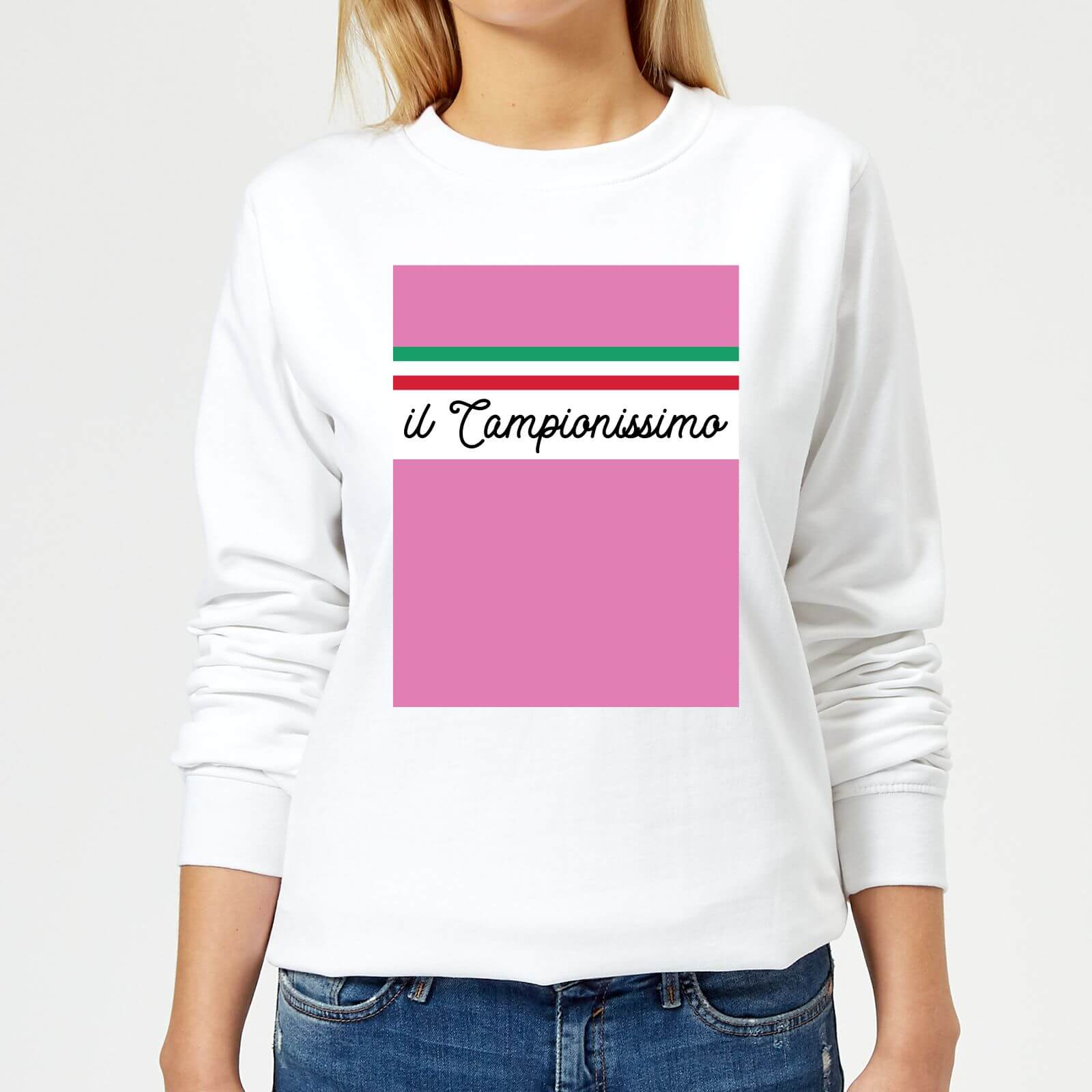 Summit Finish Il Campionissimo Women's Sweatshirt - White - XS - Weiß