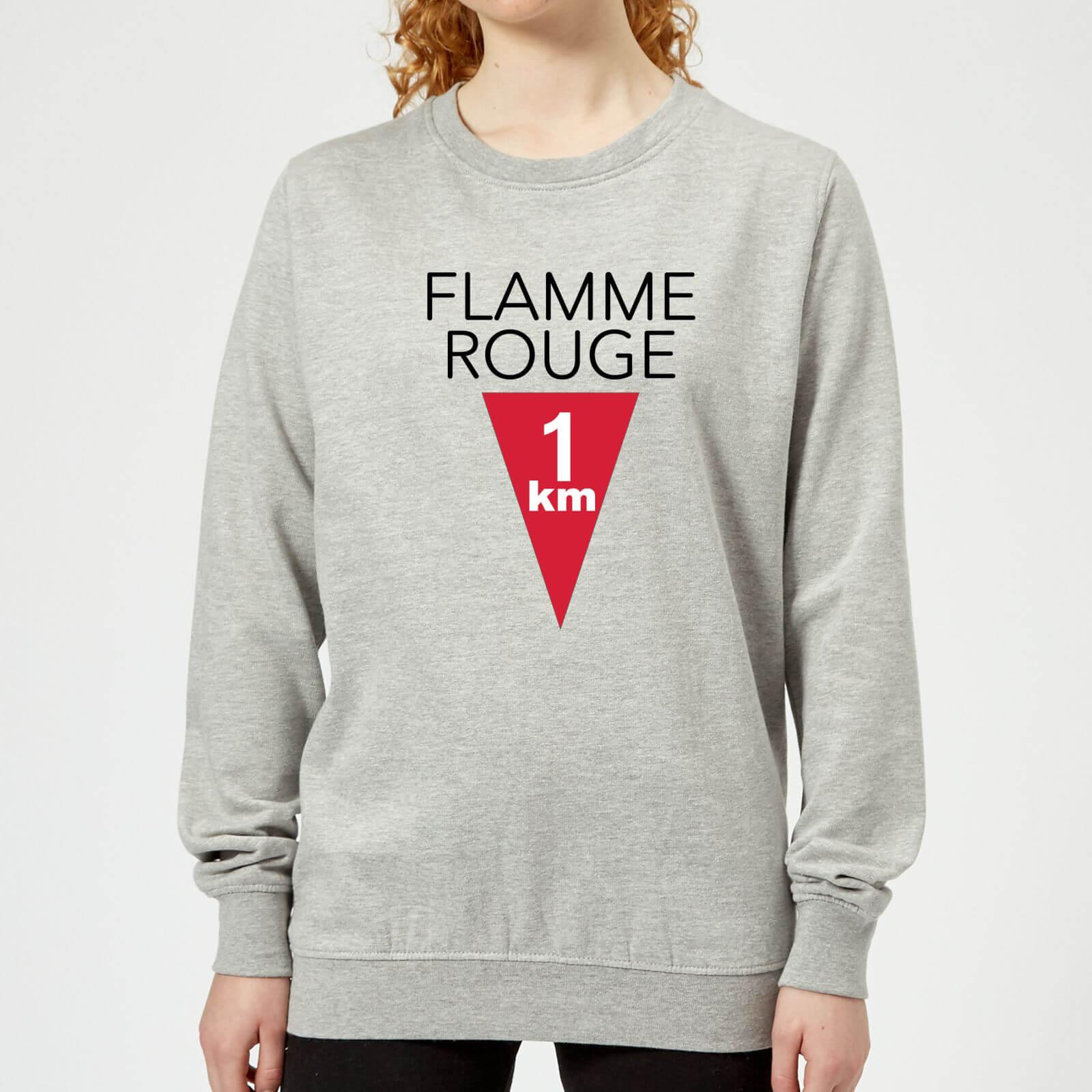 Summit Finish Flamme Rouge Women's Sweatshirt - Grey - L - Grey