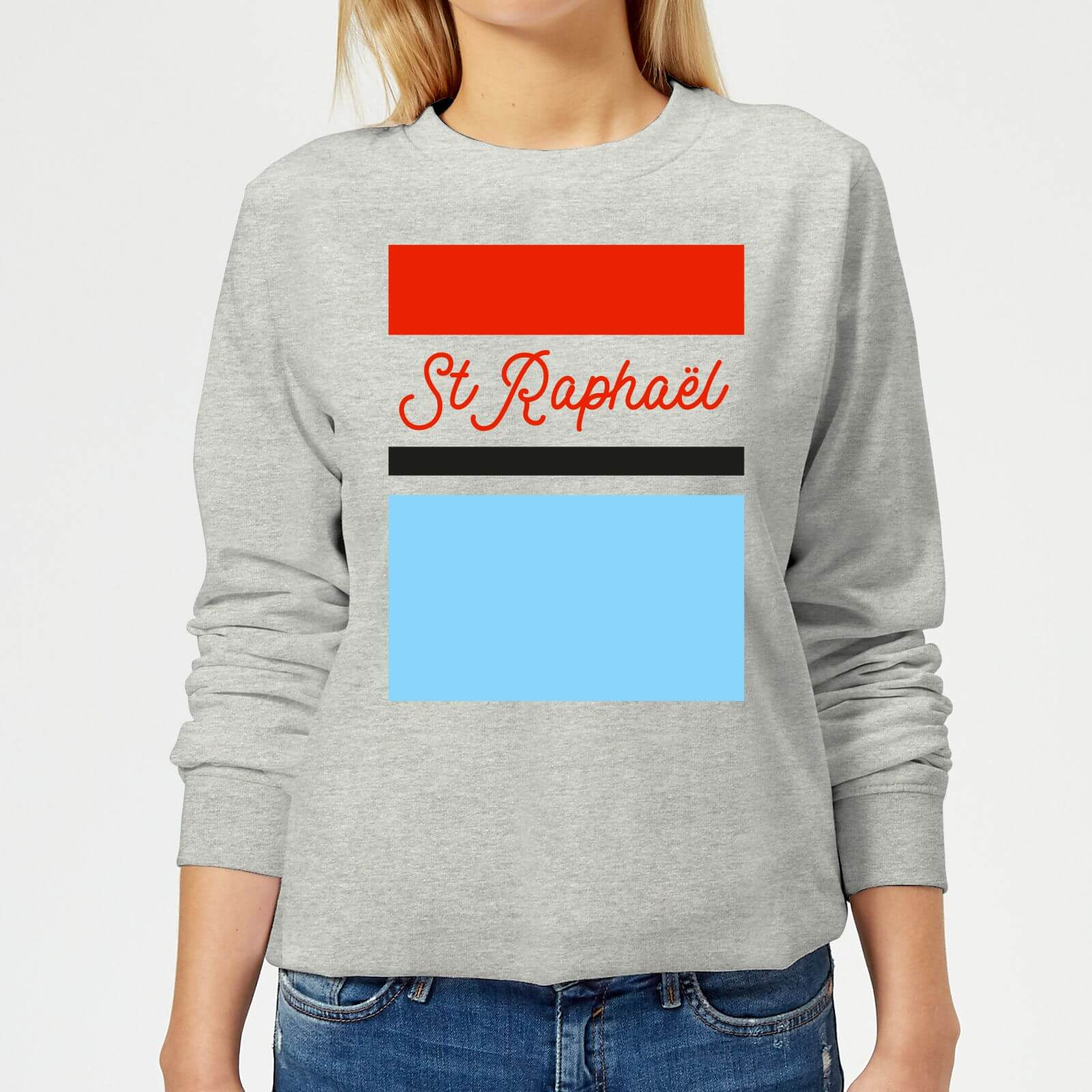 Summit Finish St Raphael Women's Sweatshirt - Grey - XL - Grey