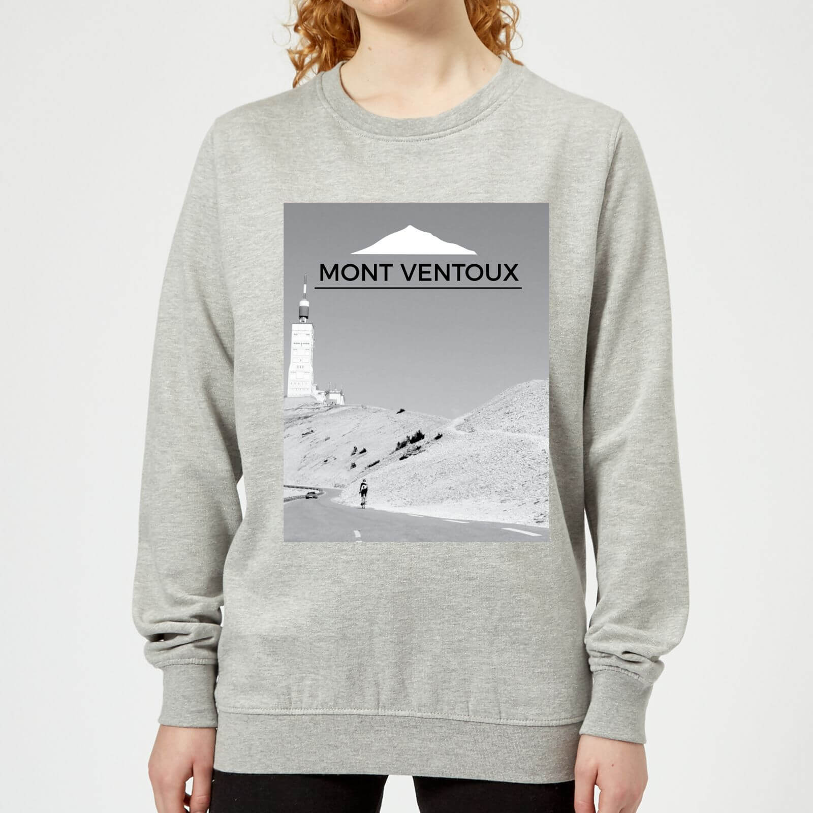 Summit Finish Mont Ventoux Scenery Women's Sweatshirt - Grey - XXL - Grey