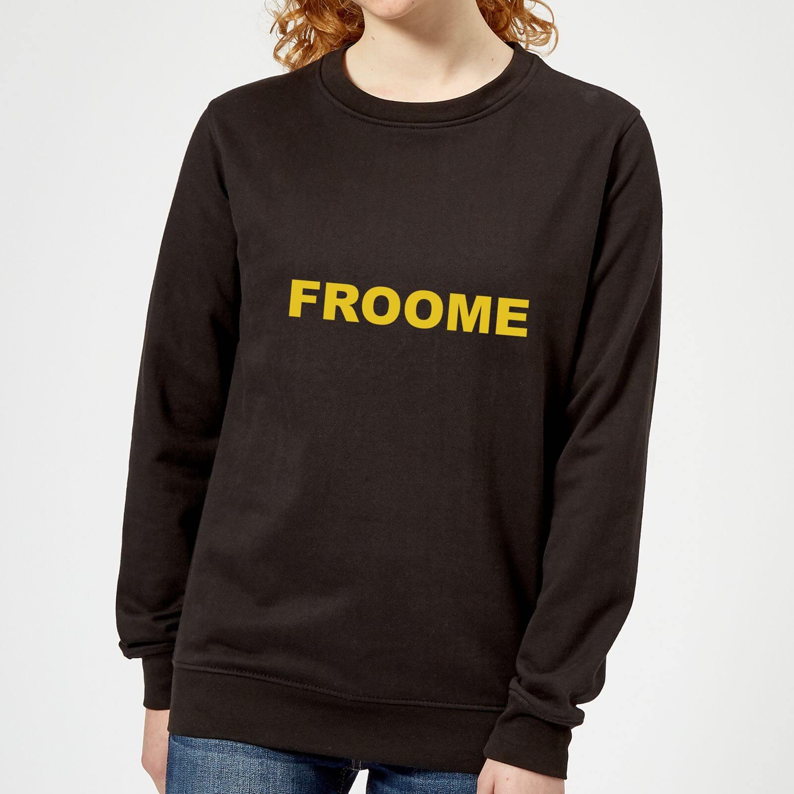 Summit Finish Froome - Rider Name Women's Sweatshirt - Black - XS - Black
