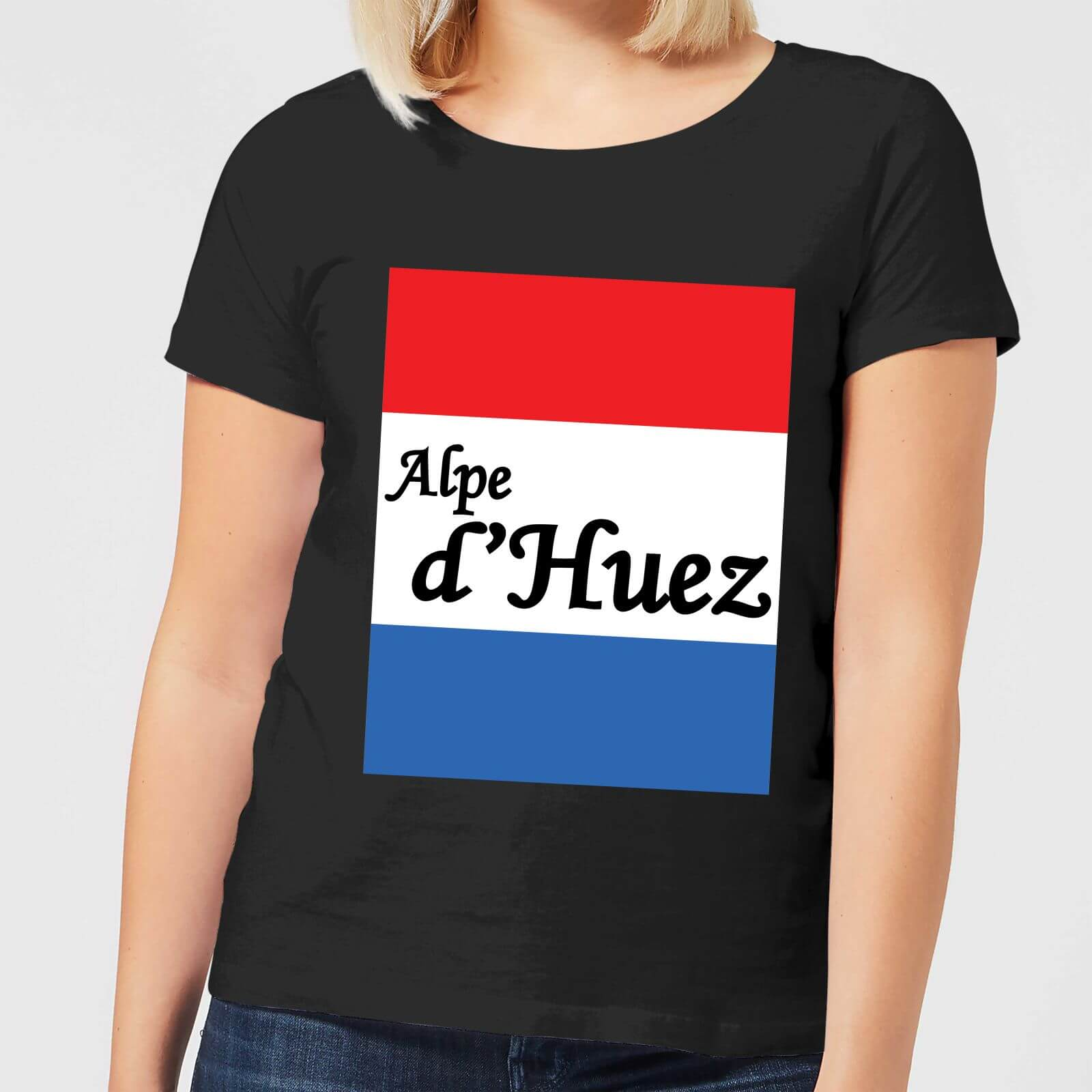 Summit Finish Alpe D'Huez Women's T-Shirt - Black - M - Black