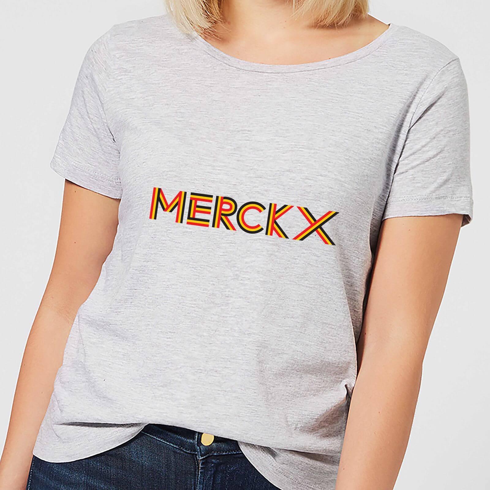 Summit Finish Merckx - Rider Name Women's T-Shirt - Grey - S - Grey
