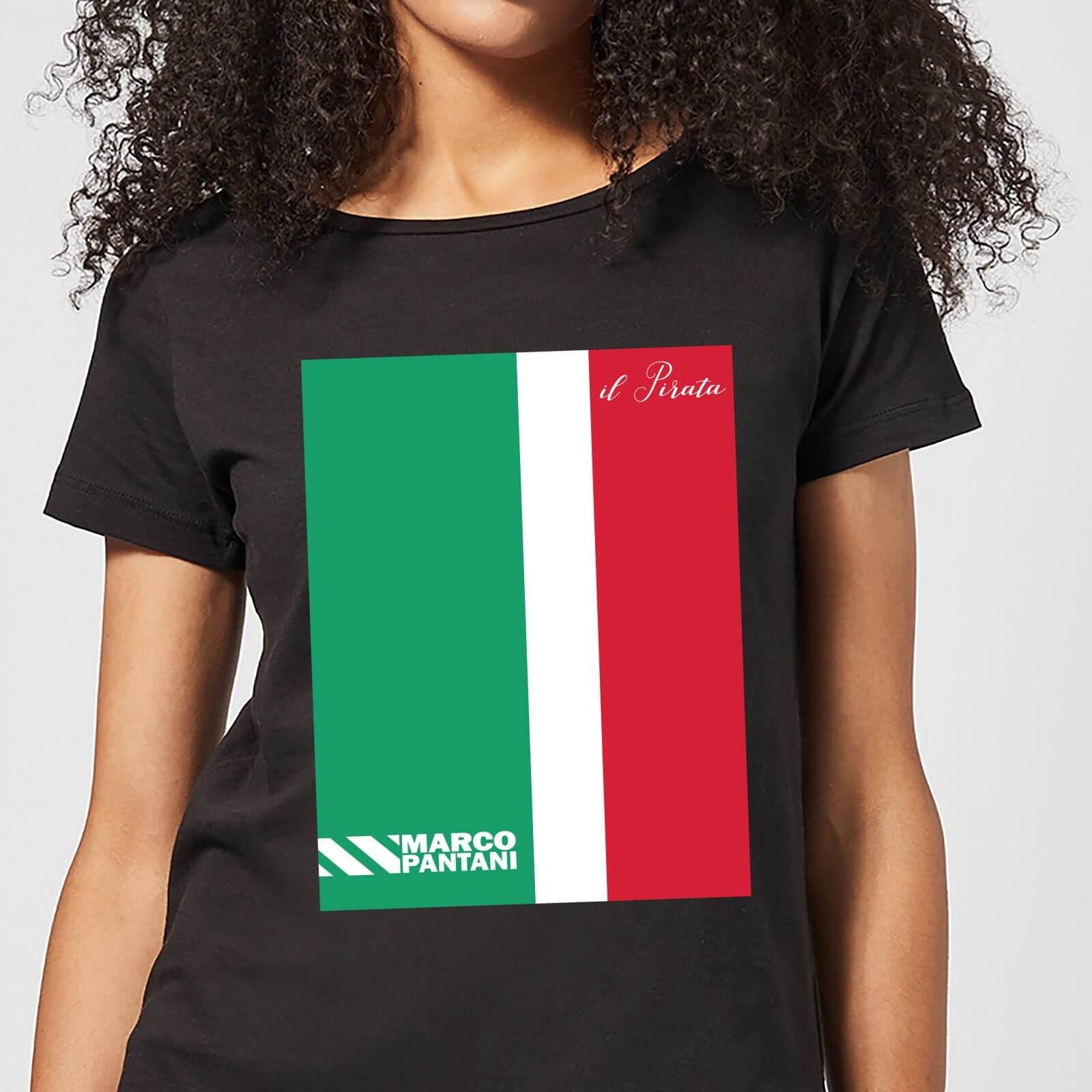 Summit Finish Pantani Il Pirata Women's T-Shirt - Black - M - Black