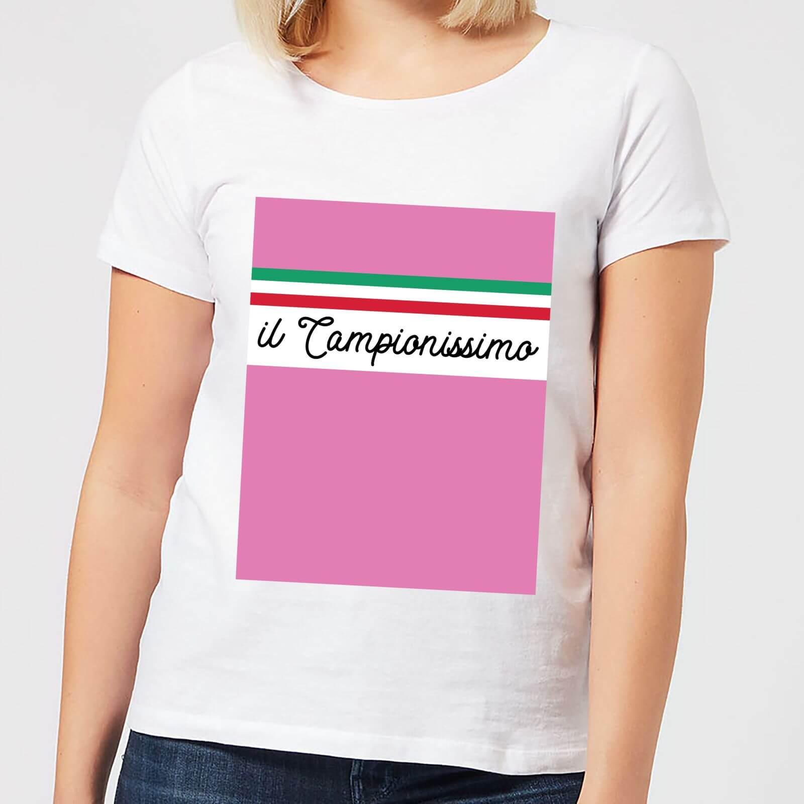 Summit Finish Il Campionissimo Women's T-Shirt - White - M - White