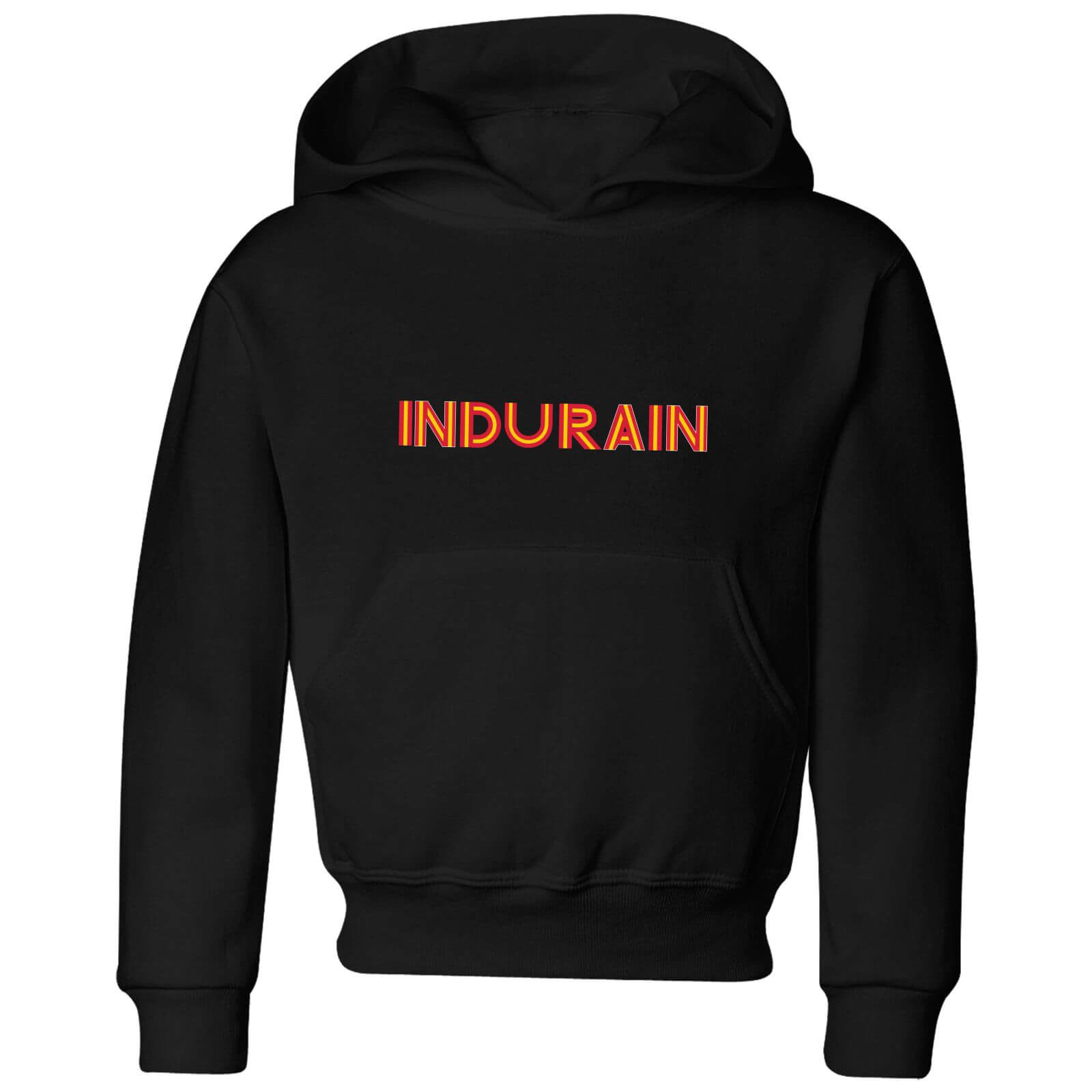 Summit Finish Indurain - Rider Name Kids' Hoodie - Black - 3-4 Years - Black