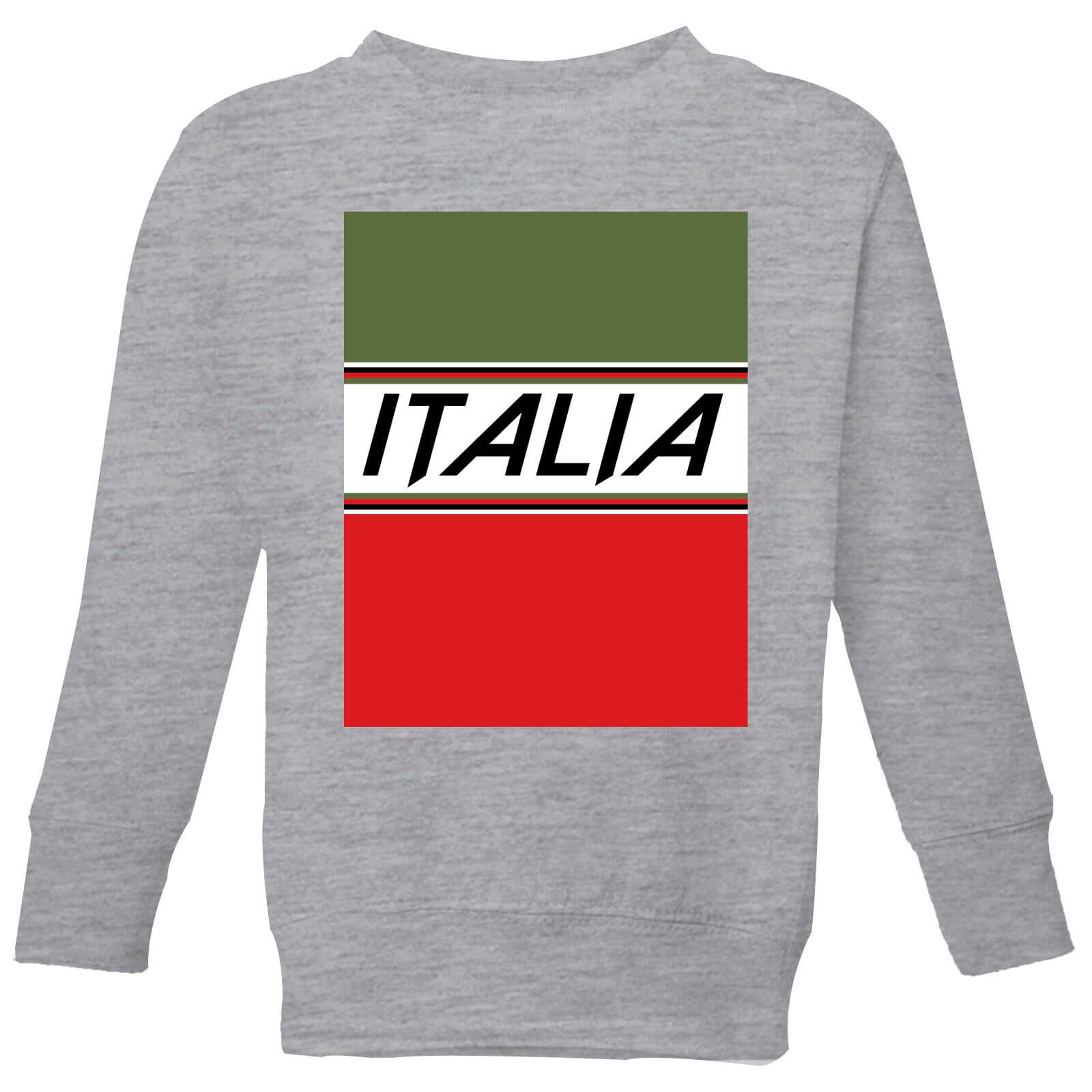 Summit Finish Italia Kids' Sweatshirt - Grey - 5-6 Years - Grey