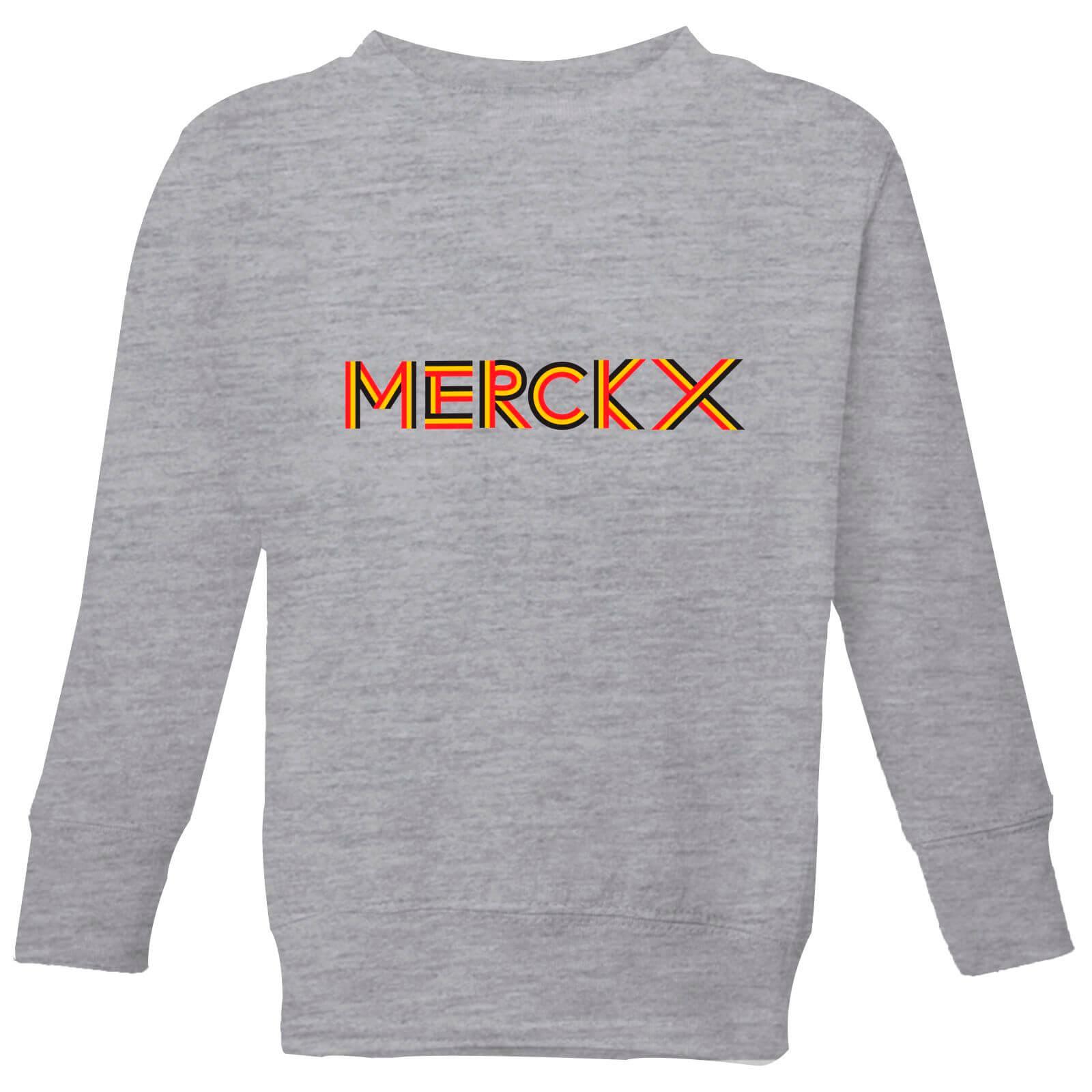 Summit Finish Merckx - Rider Name Kids' Sweatshirt - Grey - 5-6 Jahre - Grau