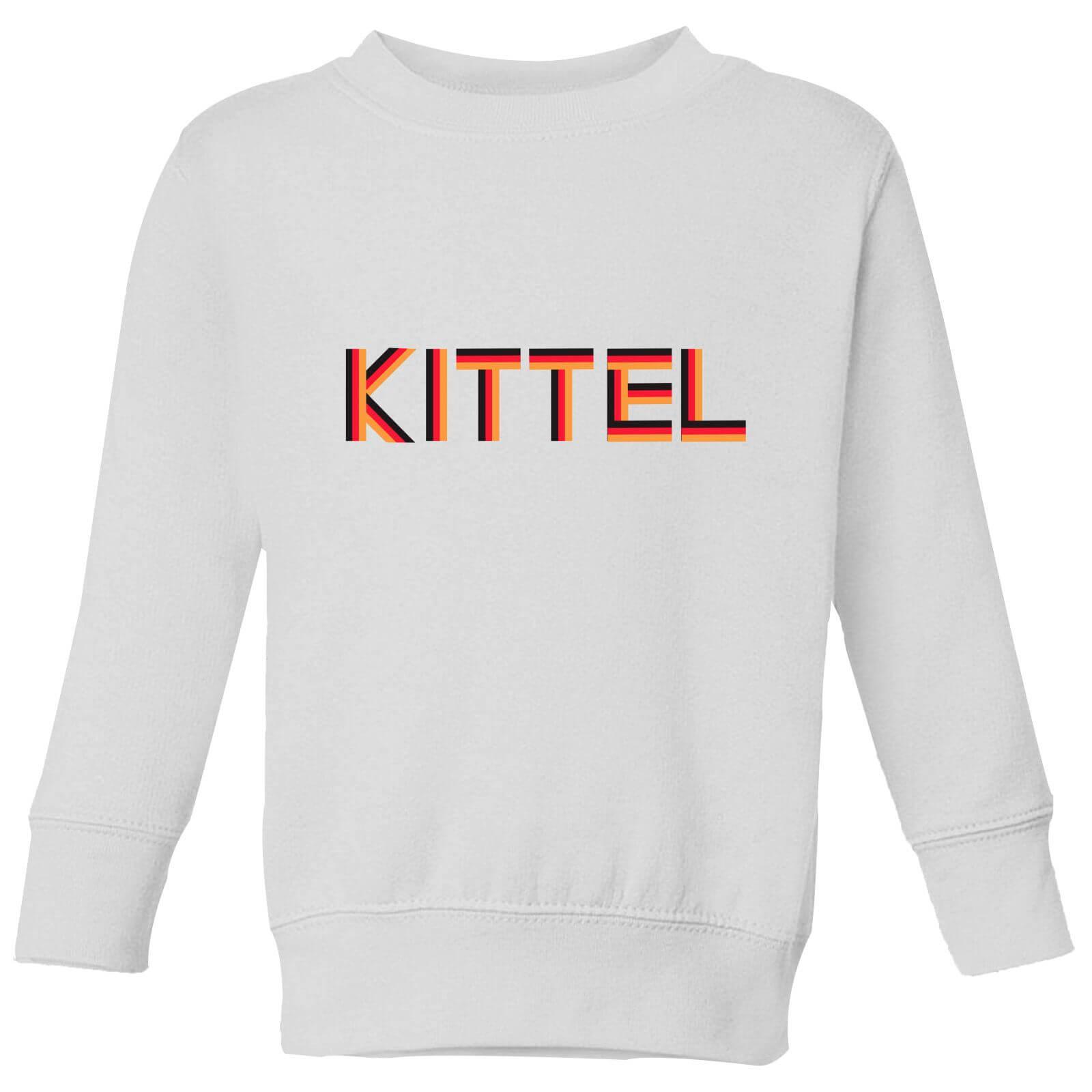 Summit Finish Kittel - Rider Name Kids' Sweatshirt - White - 3-4 Years - White