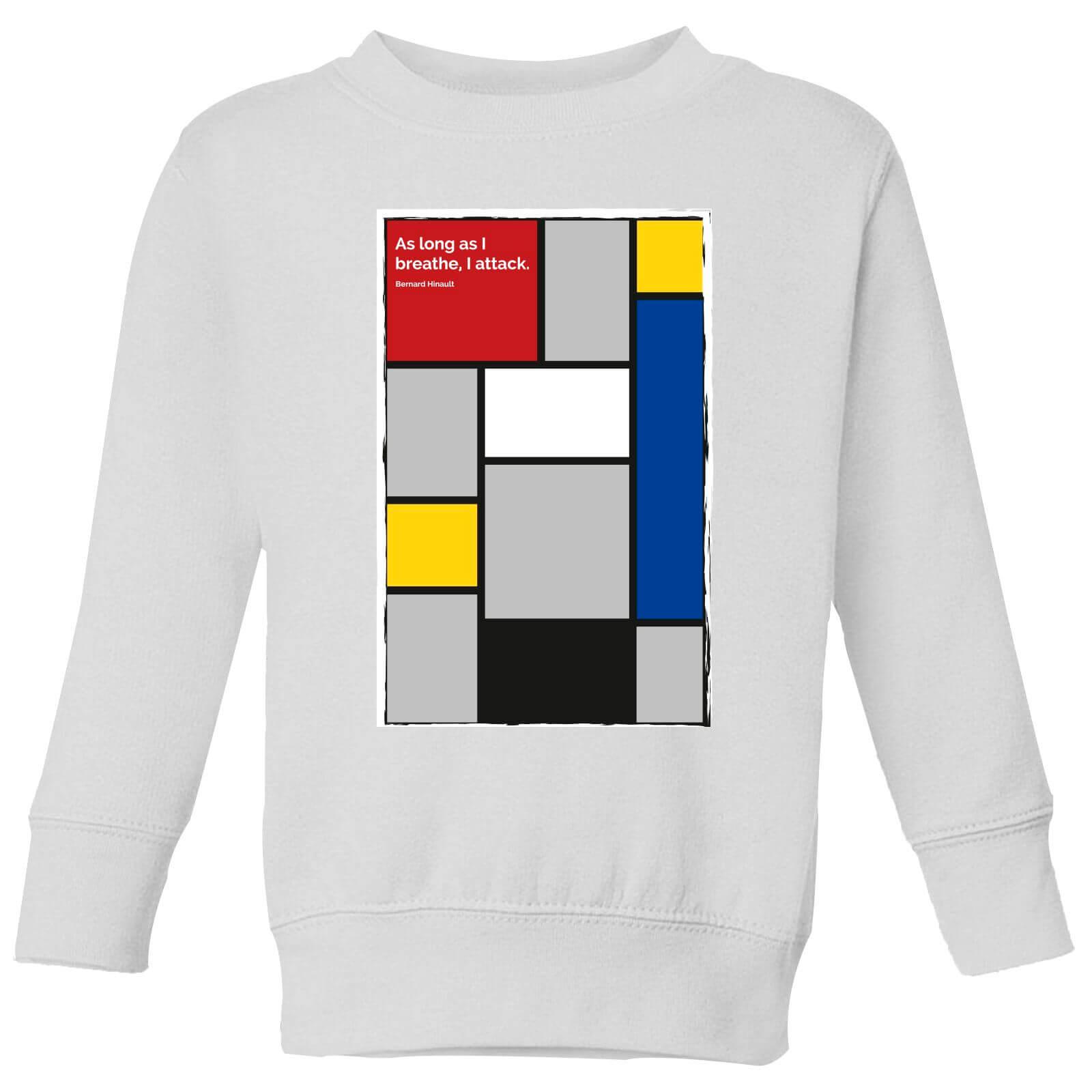 Summit Finish La Vie Claire Kids' Sweatshirt - White - 9-10 Years - White