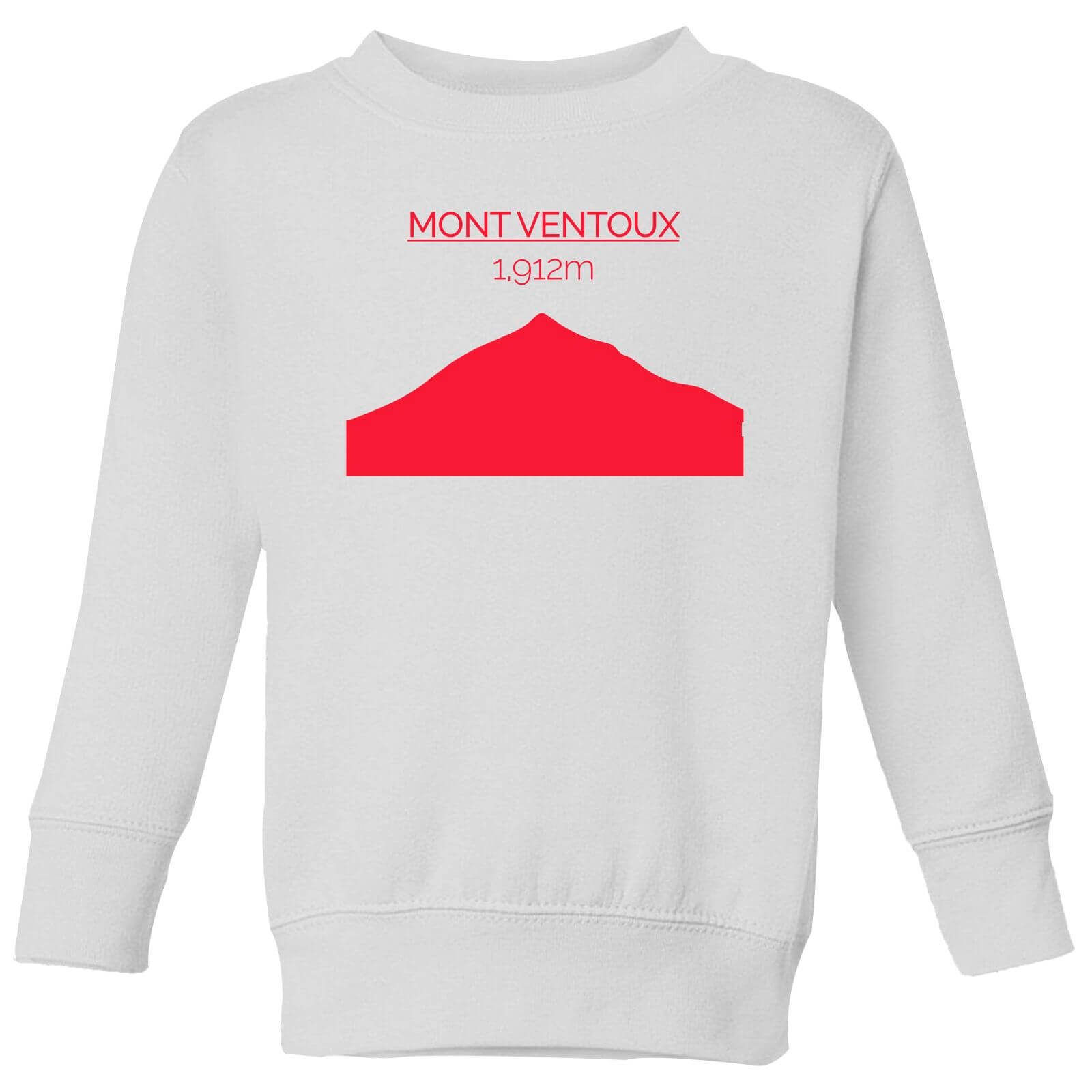 Summit Finish Mont Ventoux Kids' Sweatshirt - White - 11-12 Years - White